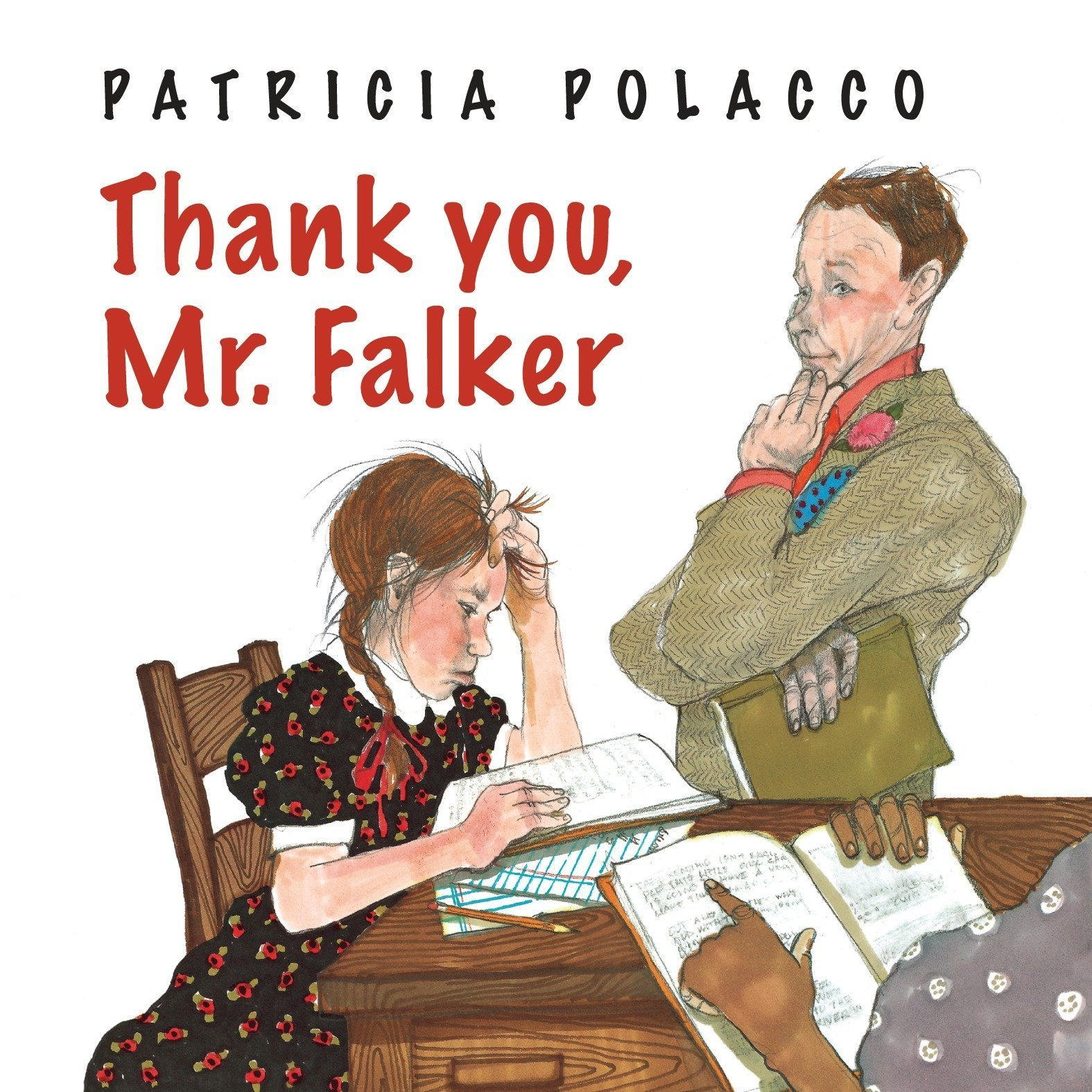 Printable Thank You, Mr. Falker Audiobook Cover Art