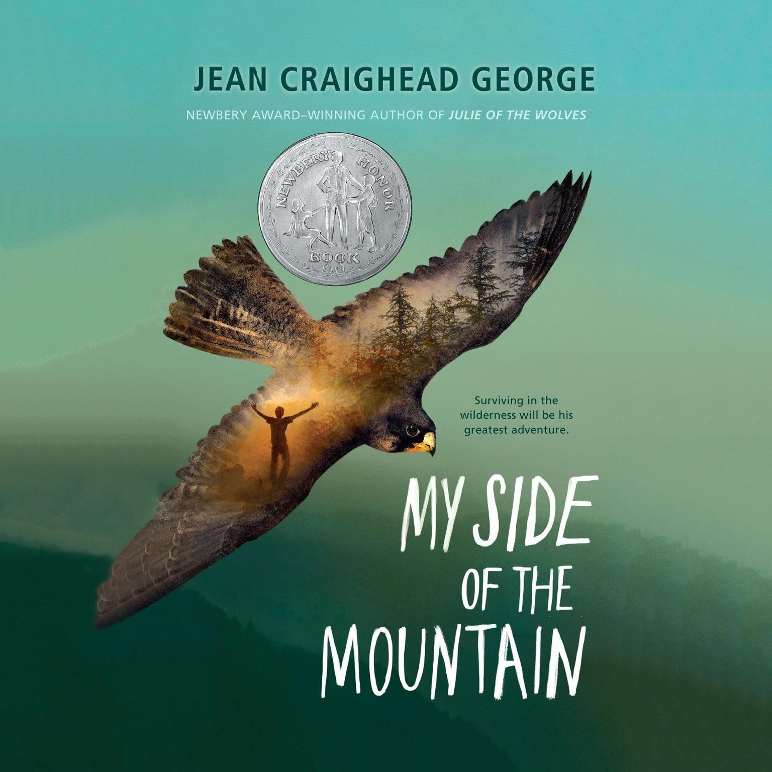 Printable My Side of the Mountain Audiobook Cover Art