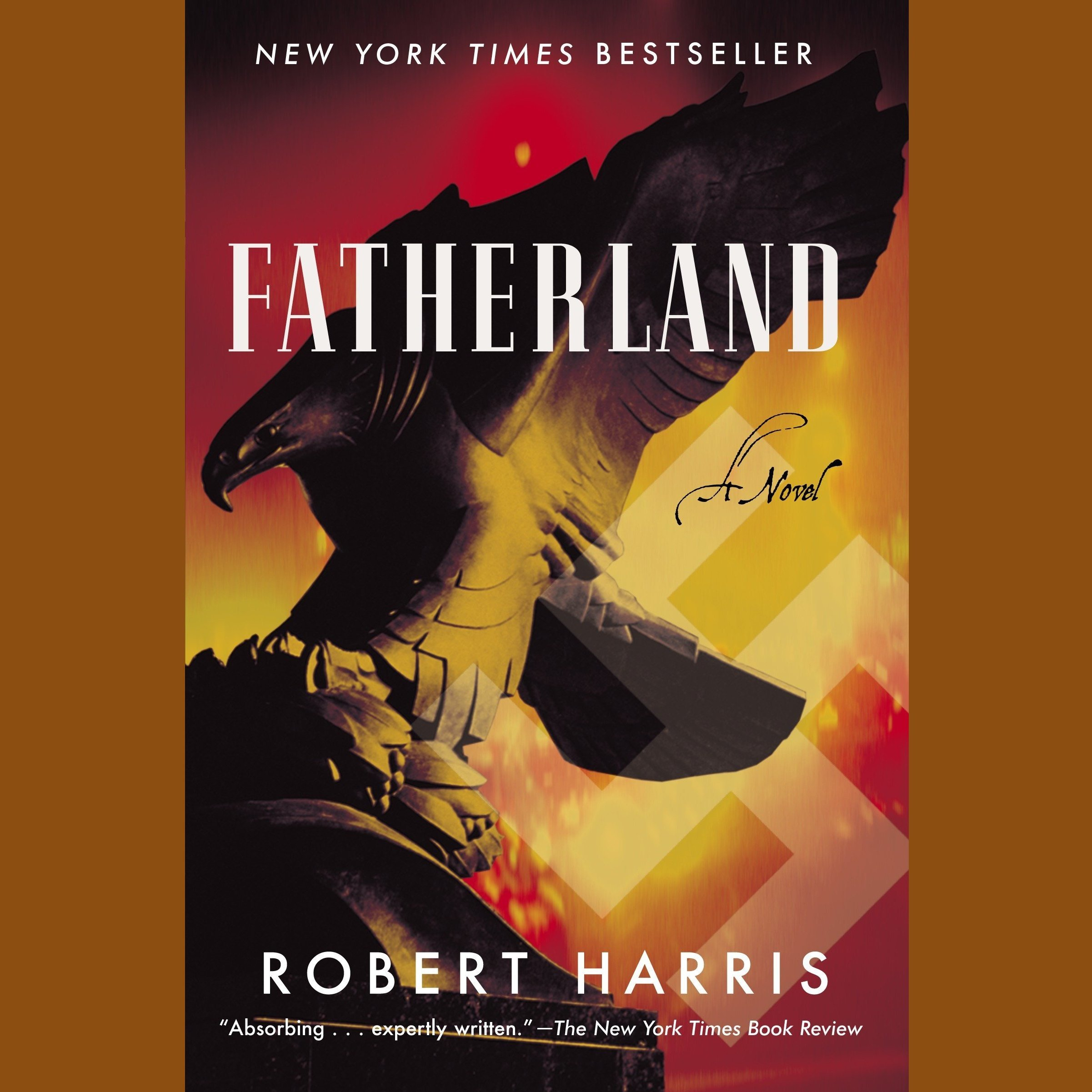 Printable Fatherland Audiobook Cover Art