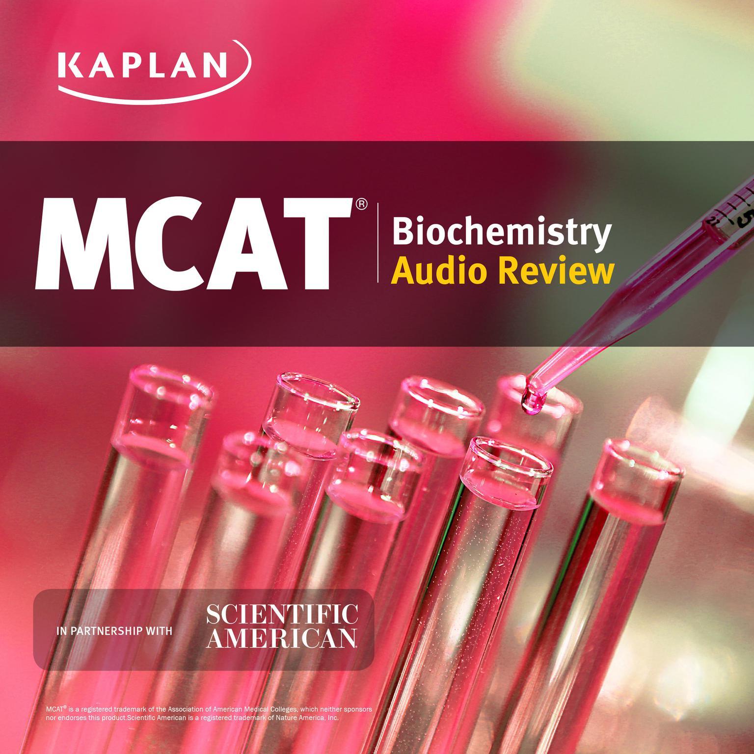 Kaplan MCAT Biochemistry Audio Review (Abridged) Audiobook, by Jeffrey Koetje