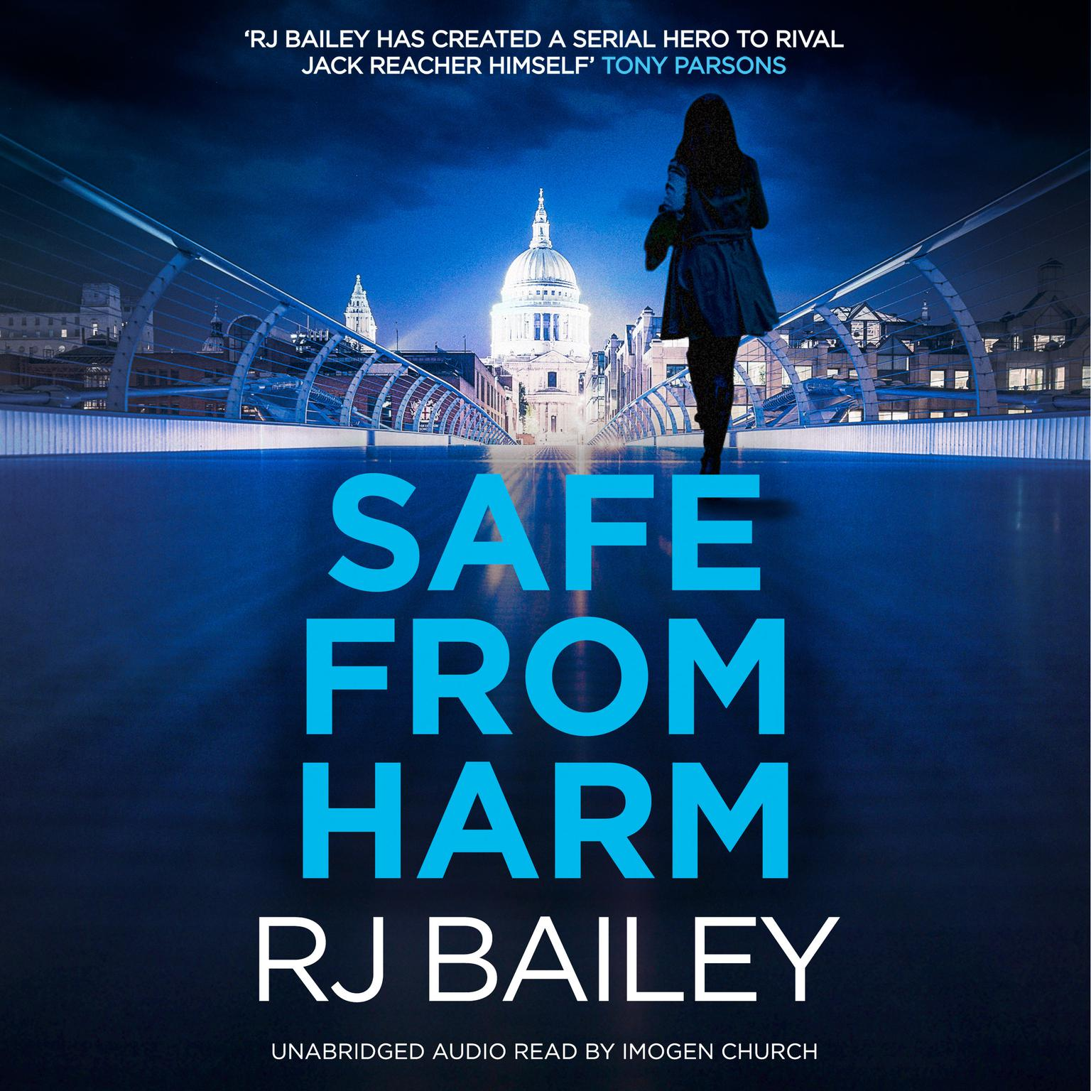 Printable Safe From Harm: The first fast-paced, unputdownable action thriller featuring bodyguard extraordinaire Sam Wylde Audiobook Cover Art