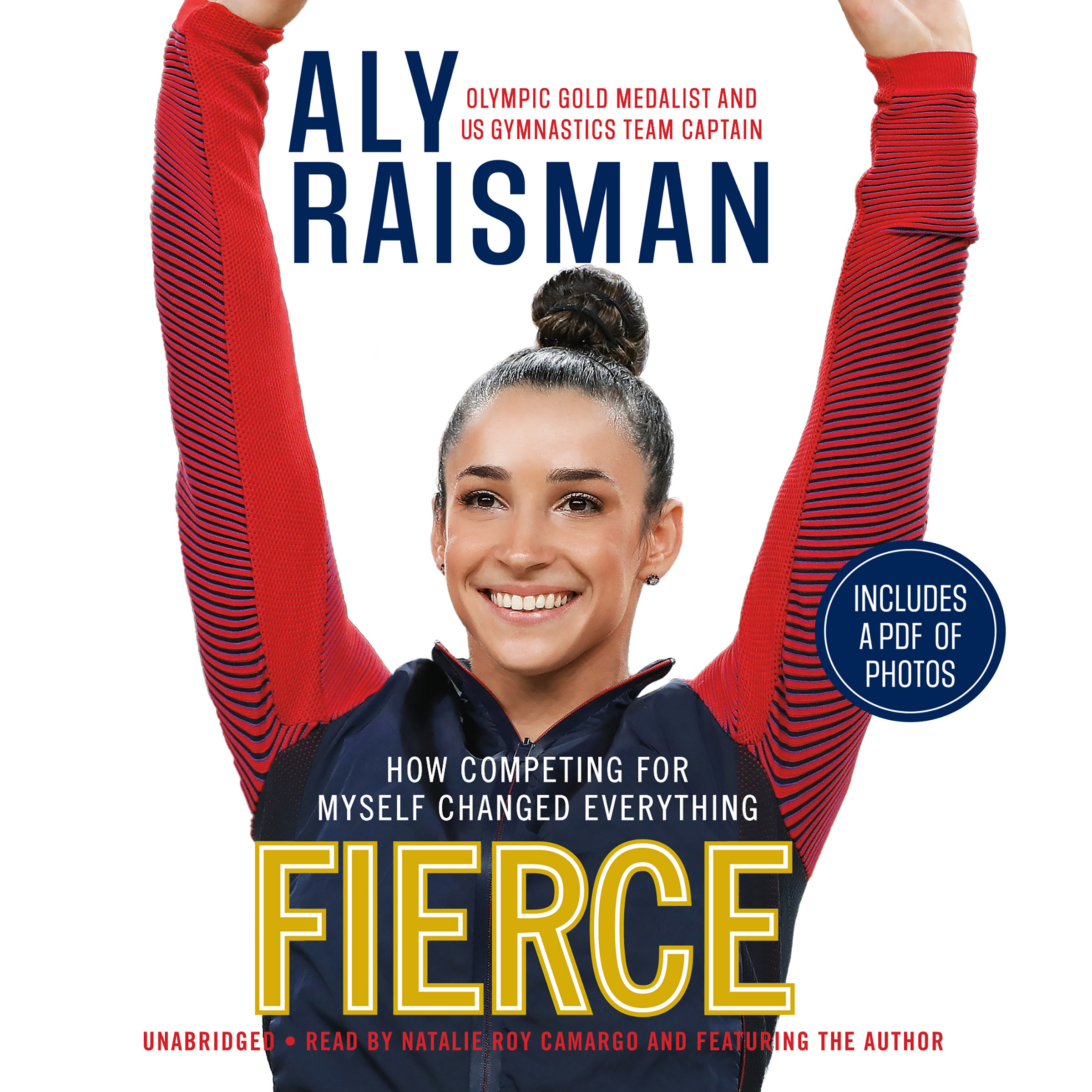 Printable Fierce: How Competing for Myself Changed Everything Audiobook Cover Art