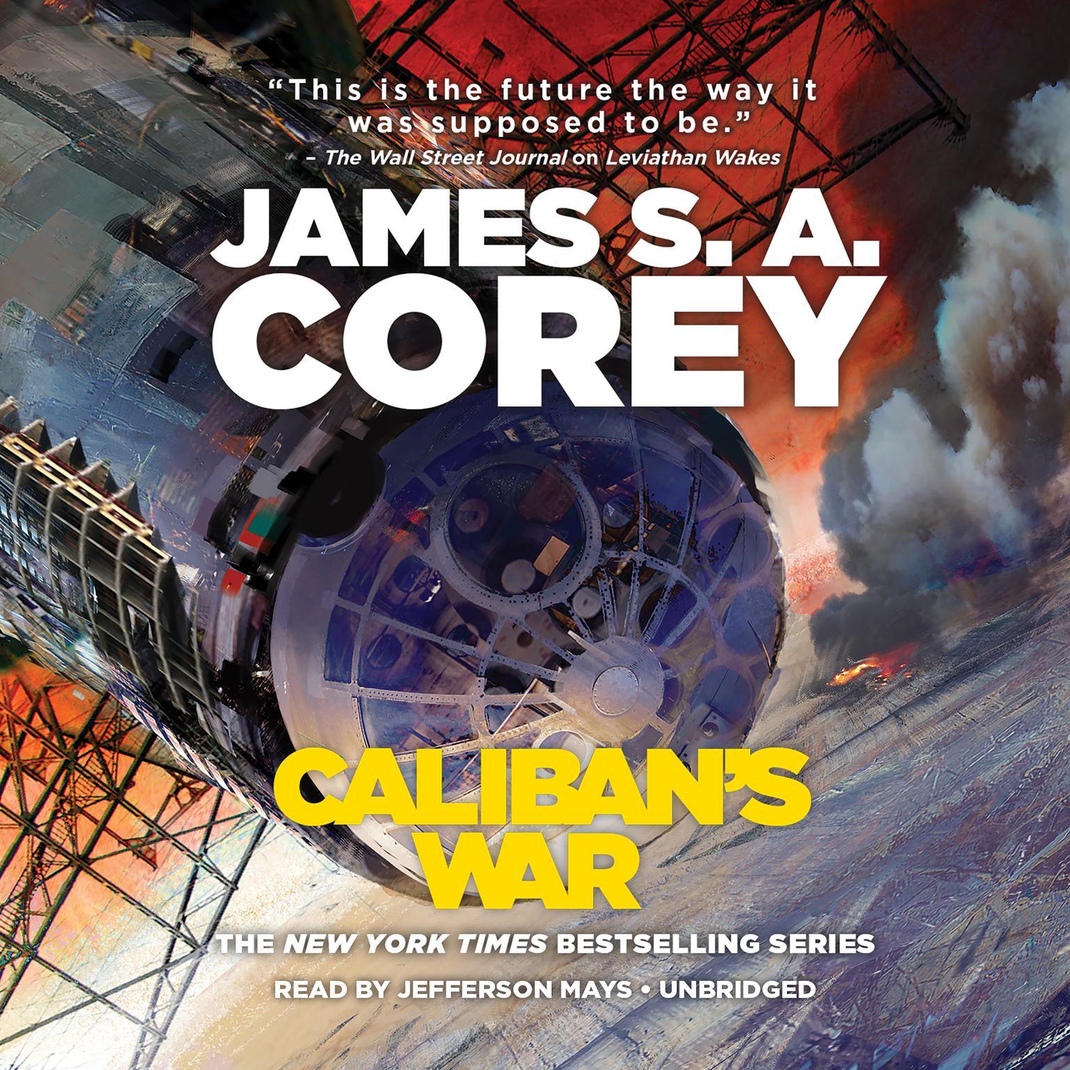 Printable Caliban's War Audiobook Cover Art