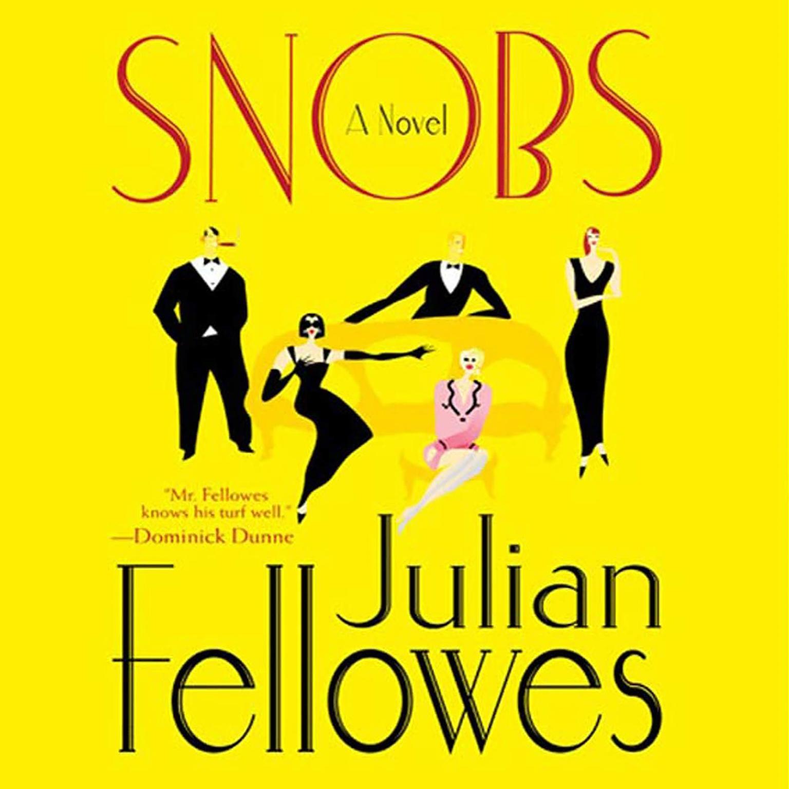 Printable Snobs: A Novel Audiobook Cover Art