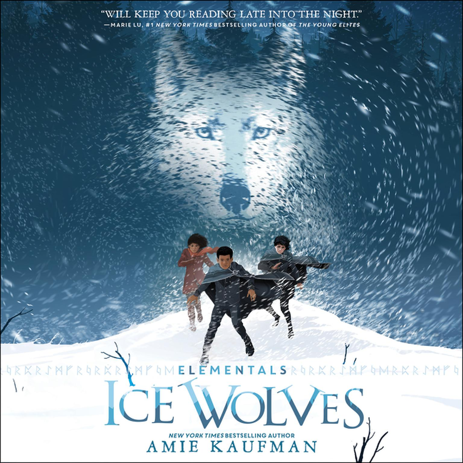 Printable Elementals: Ice Wolves Audiobook Cover Art