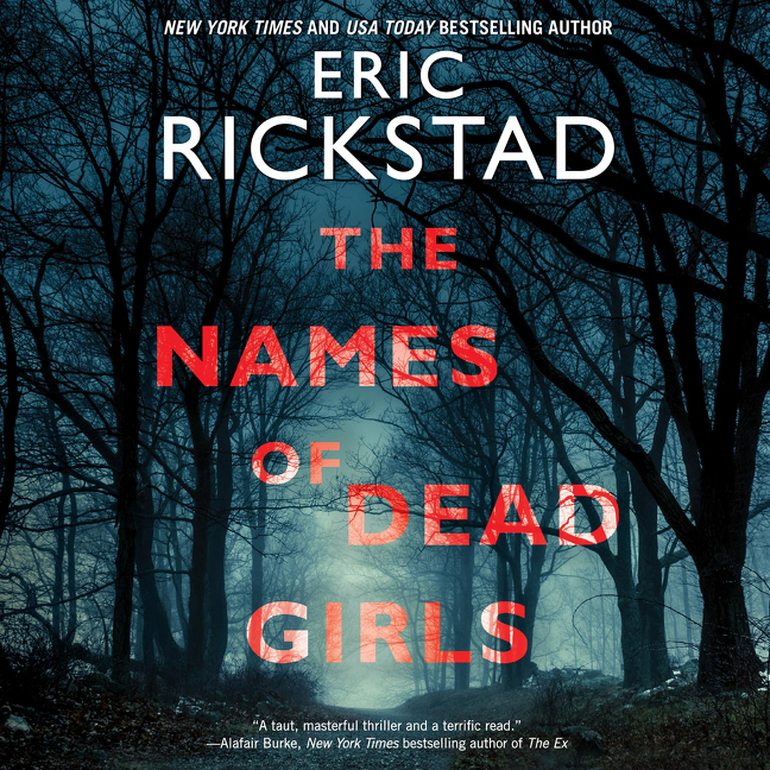 Printable The Names of Dead Girls Audiobook Cover Art