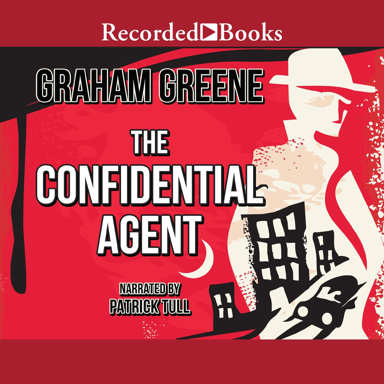 Printable The Confidential Agent Audiobook Cover Art