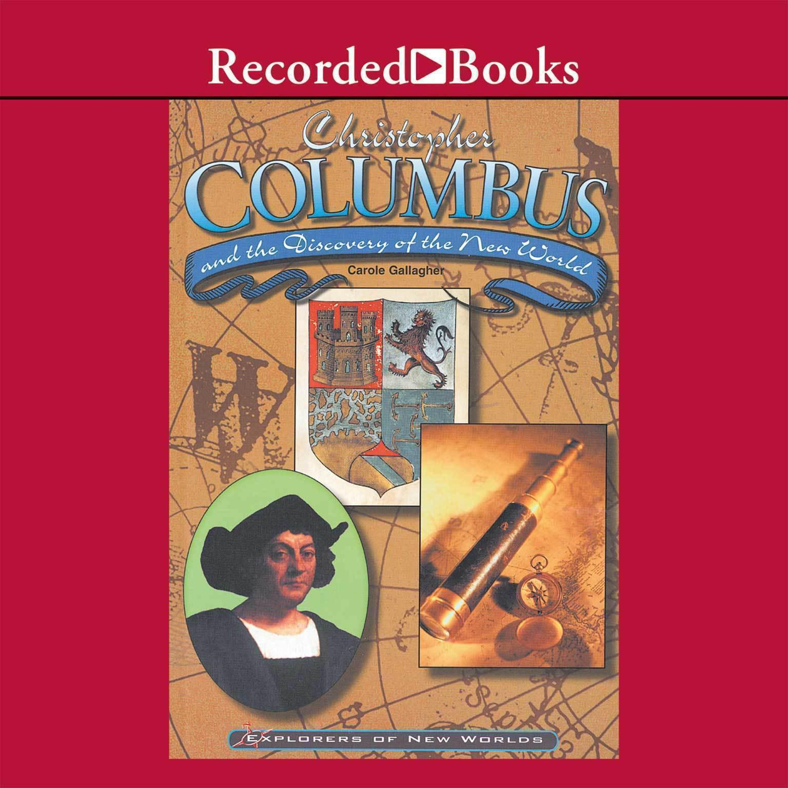 Printable Christopher Columbus and the Discovery of the New World Audiobook Cover Art