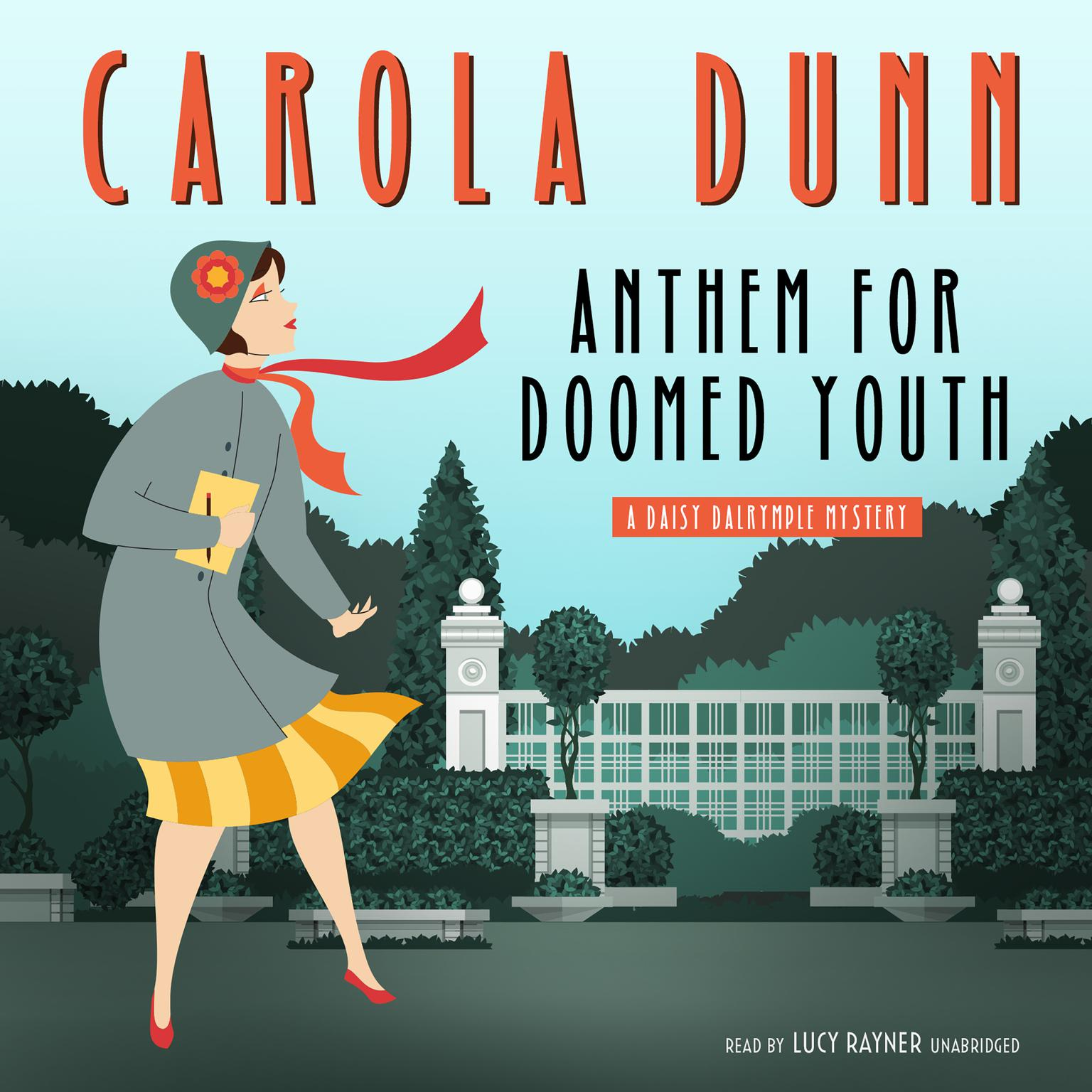 Printable Anthem for Doomed Youth: A Daisy Dalrymple Mystery Audiobook Cover Art