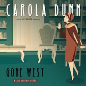 Gone West: A Daisy Dalrymple Mystery Audiobook, by Carola Dunn