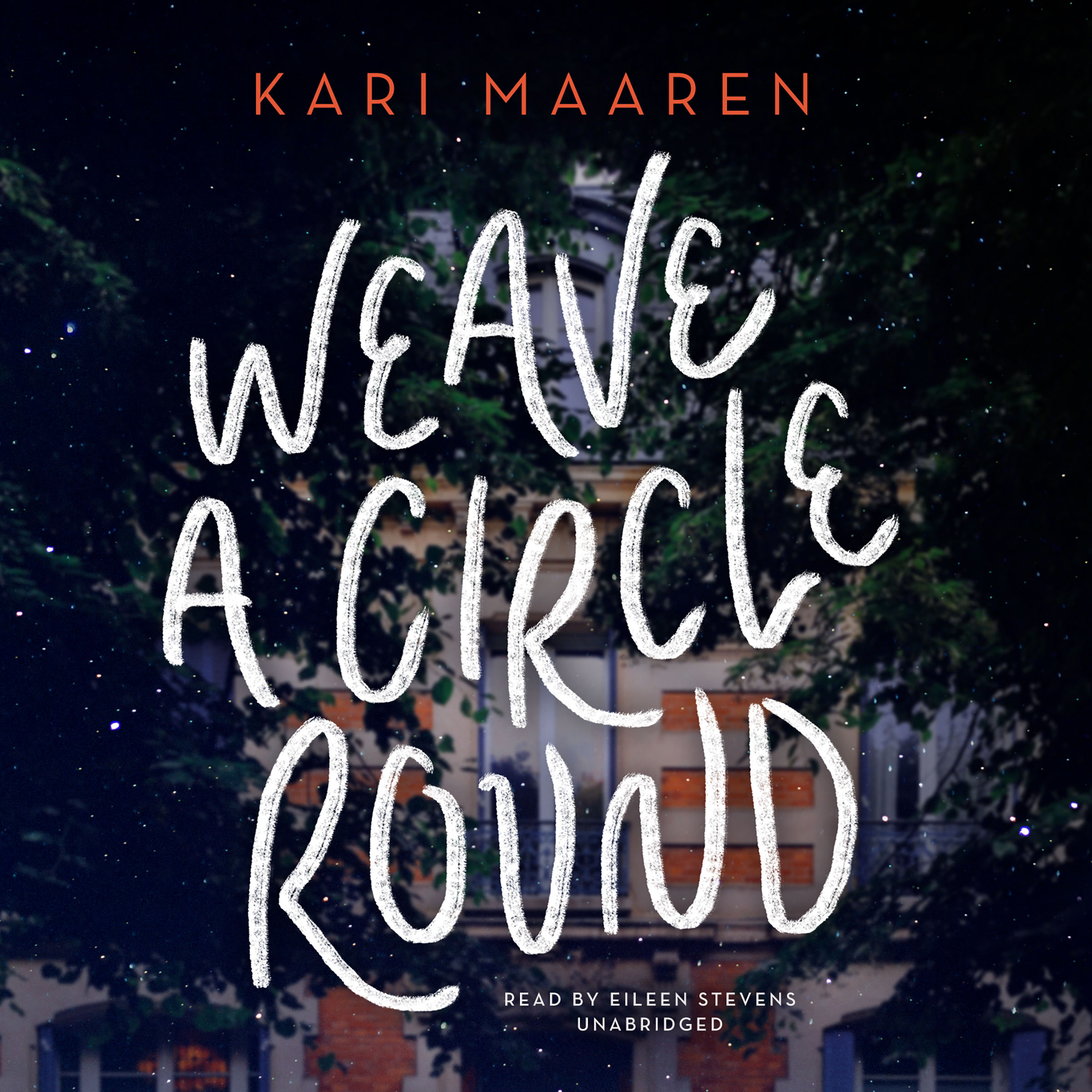 Printable Weave a Circle Round Audiobook Cover Art