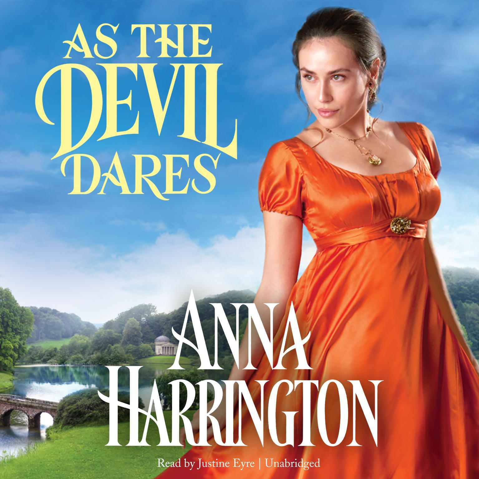As the Devil Dares Audiobook, by Anna Harrington