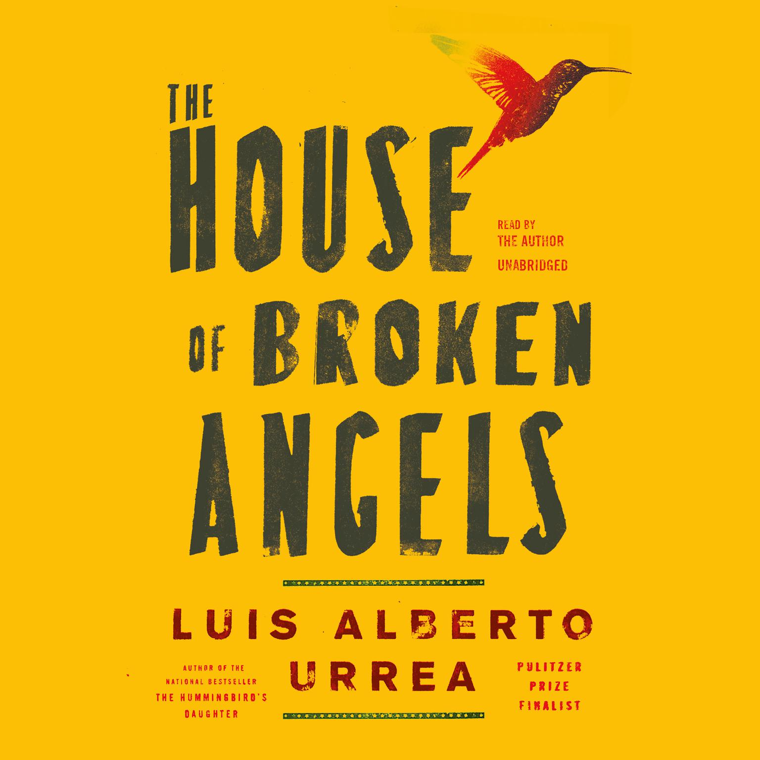 Printable The House of Broken Angels Audiobook Cover Art