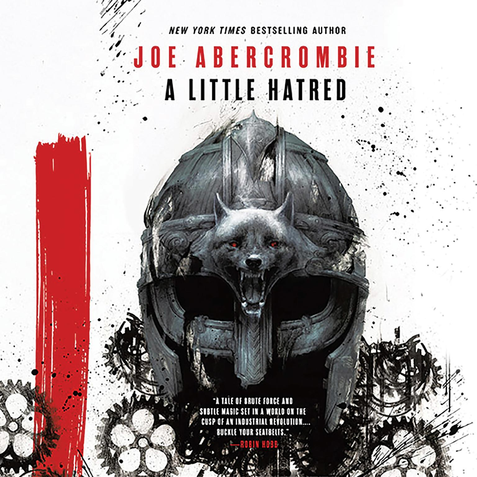 Printable A Little Hatred Audiobook Cover Art
