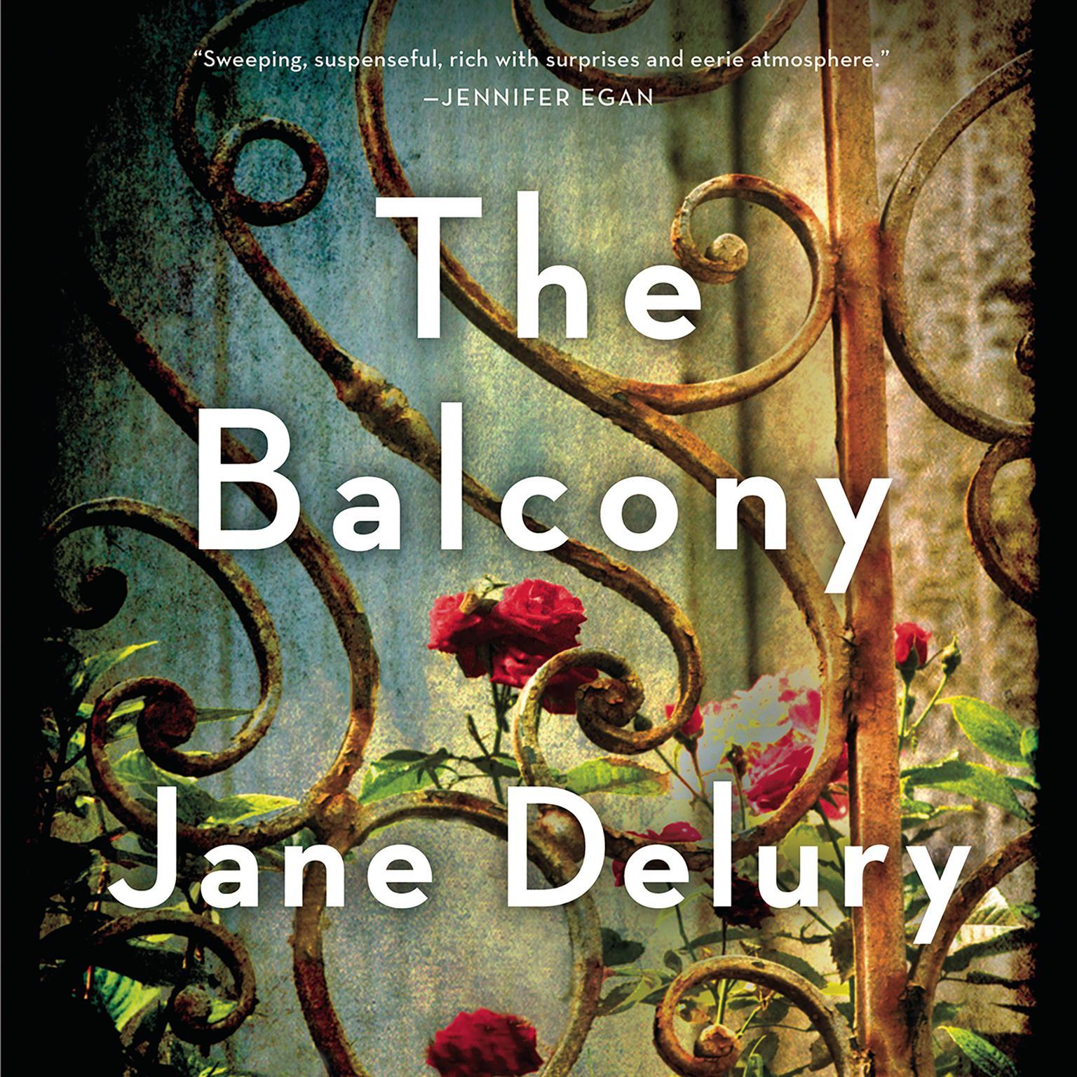 The Balcony Audiobook, by Jane Delury