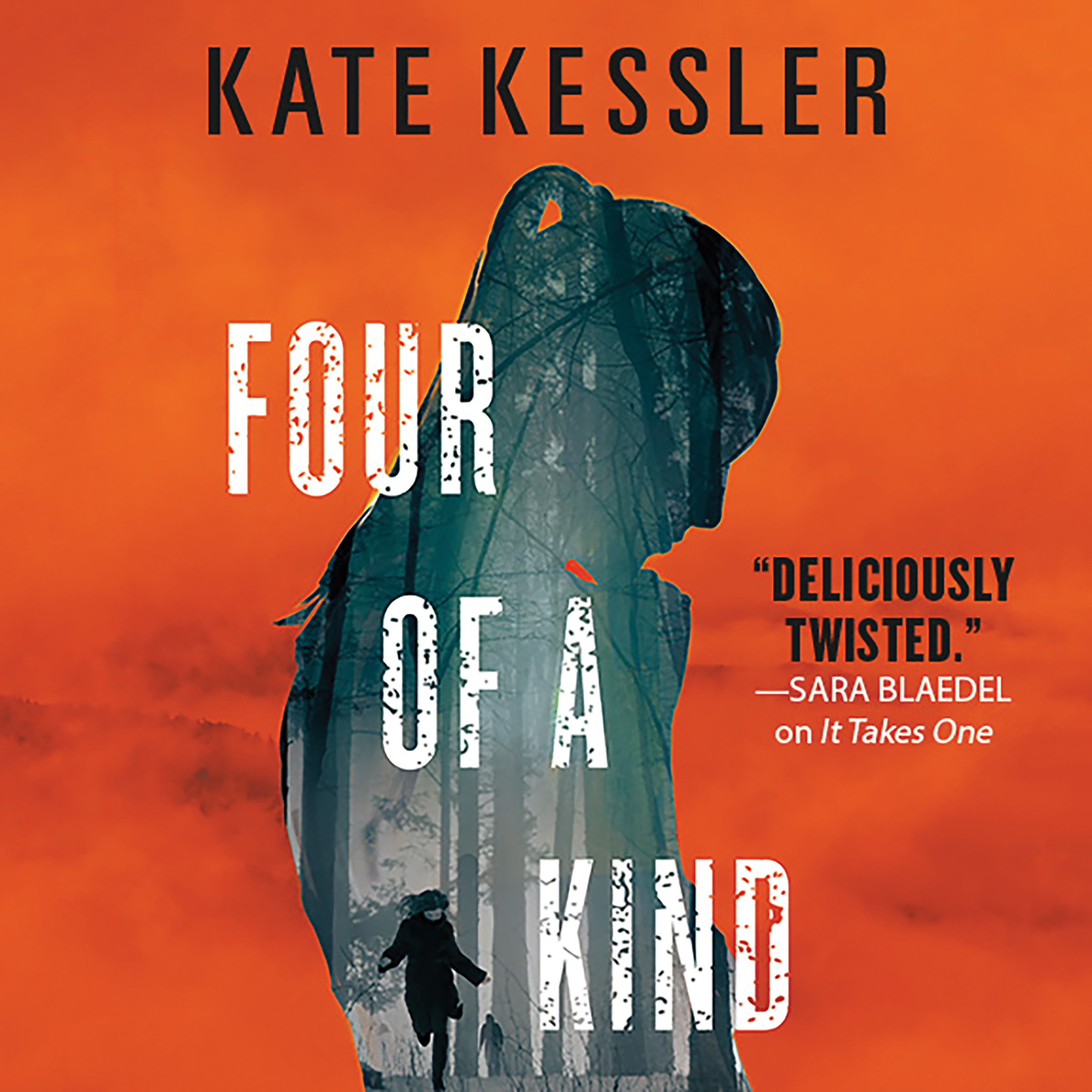 Printable Four of a Kind Audiobook Cover Art