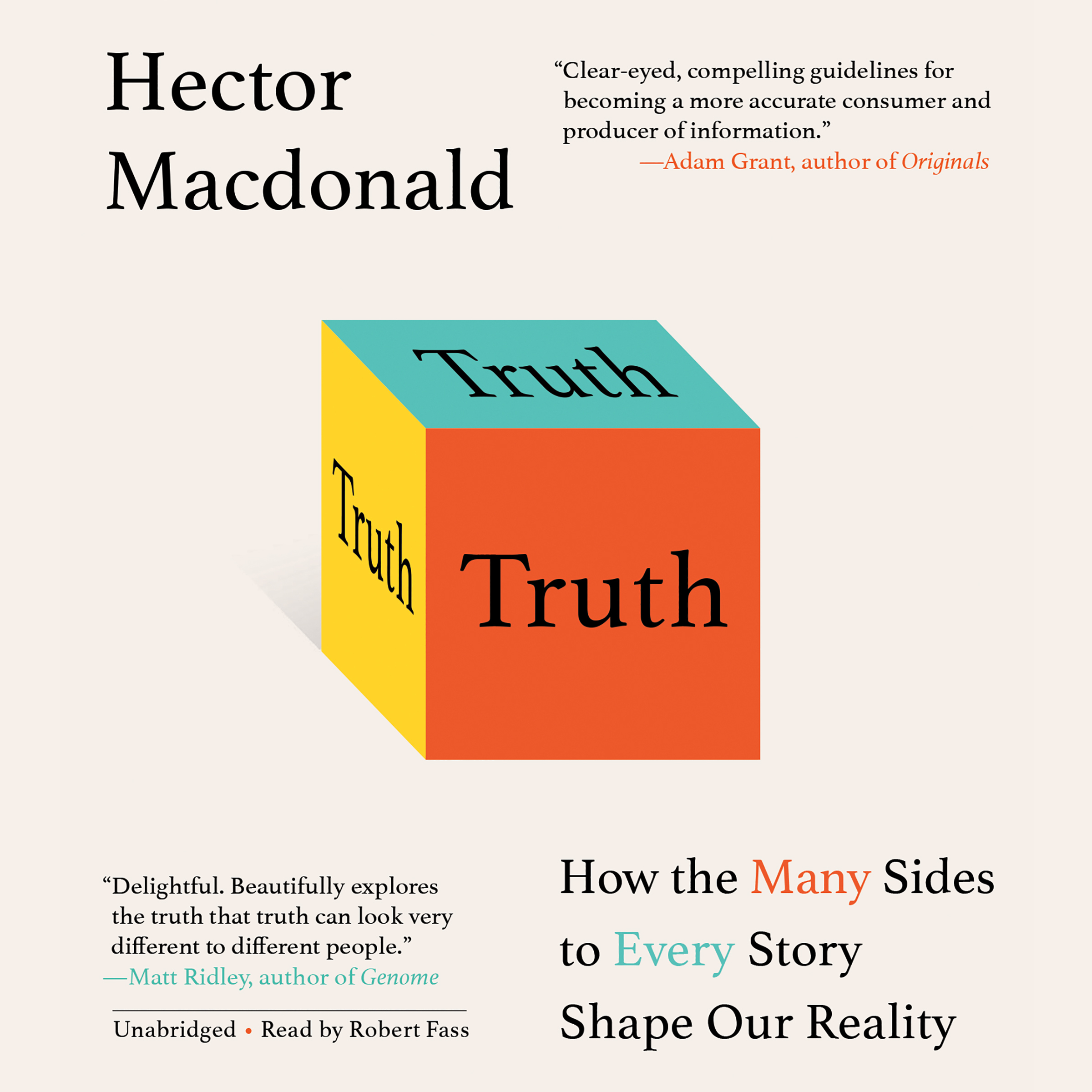 Printable Truth: How the Many Sides to Every Story Shape Our Reality Audiobook Cover Art