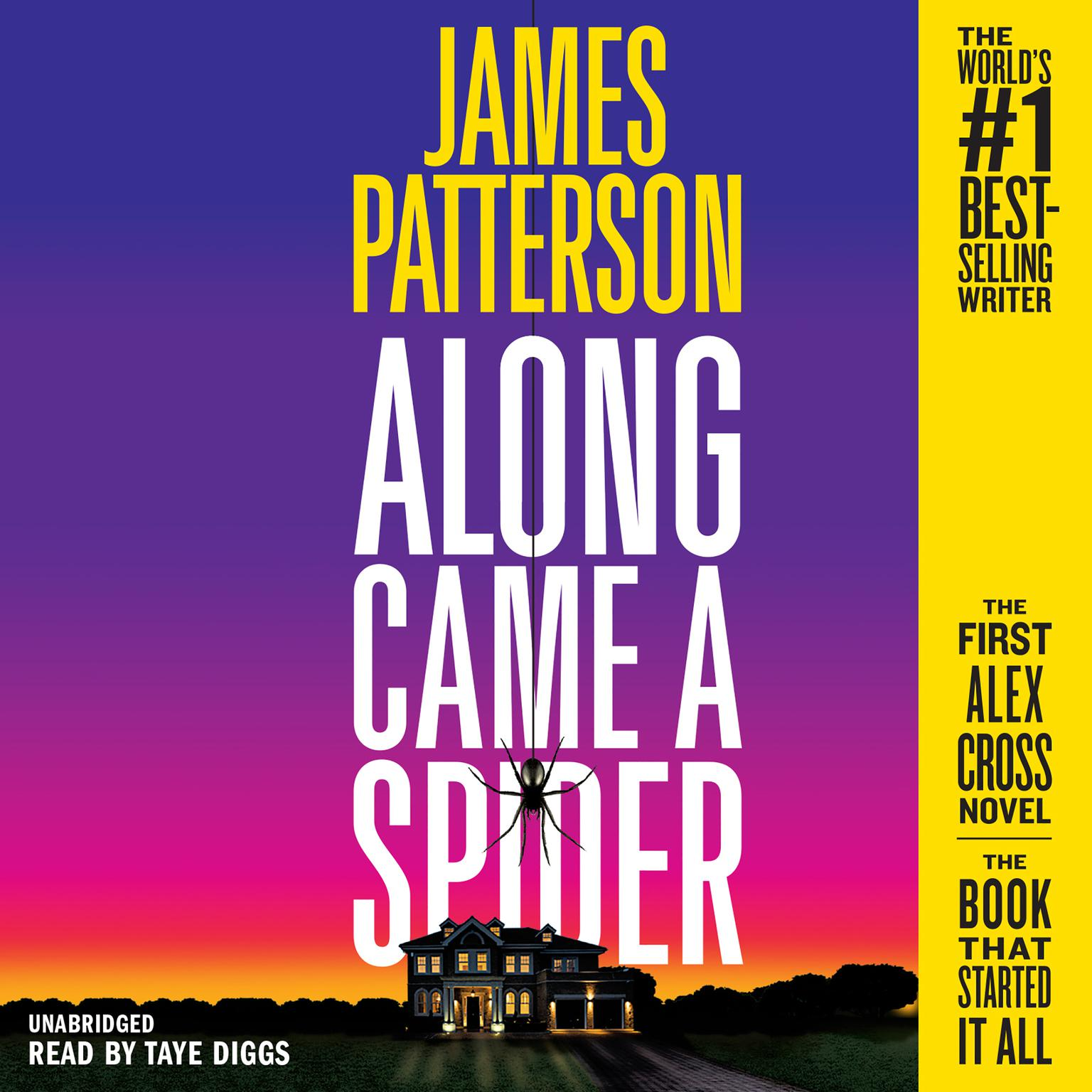 Printable Along Came a Spider: 25th Anniversary Edition Audiobook Cover Art