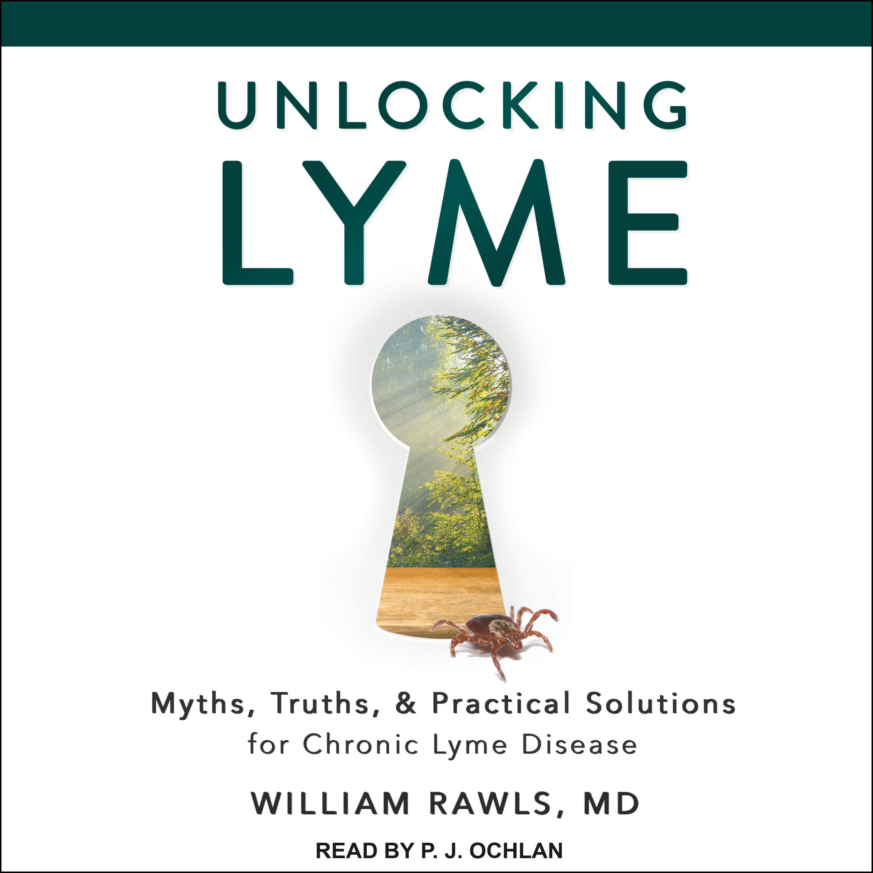 Printable Unlocking Lyme: Myths, Truths, and Practical Solutions for Chronic Lyme Disease Audiobook Cover Art