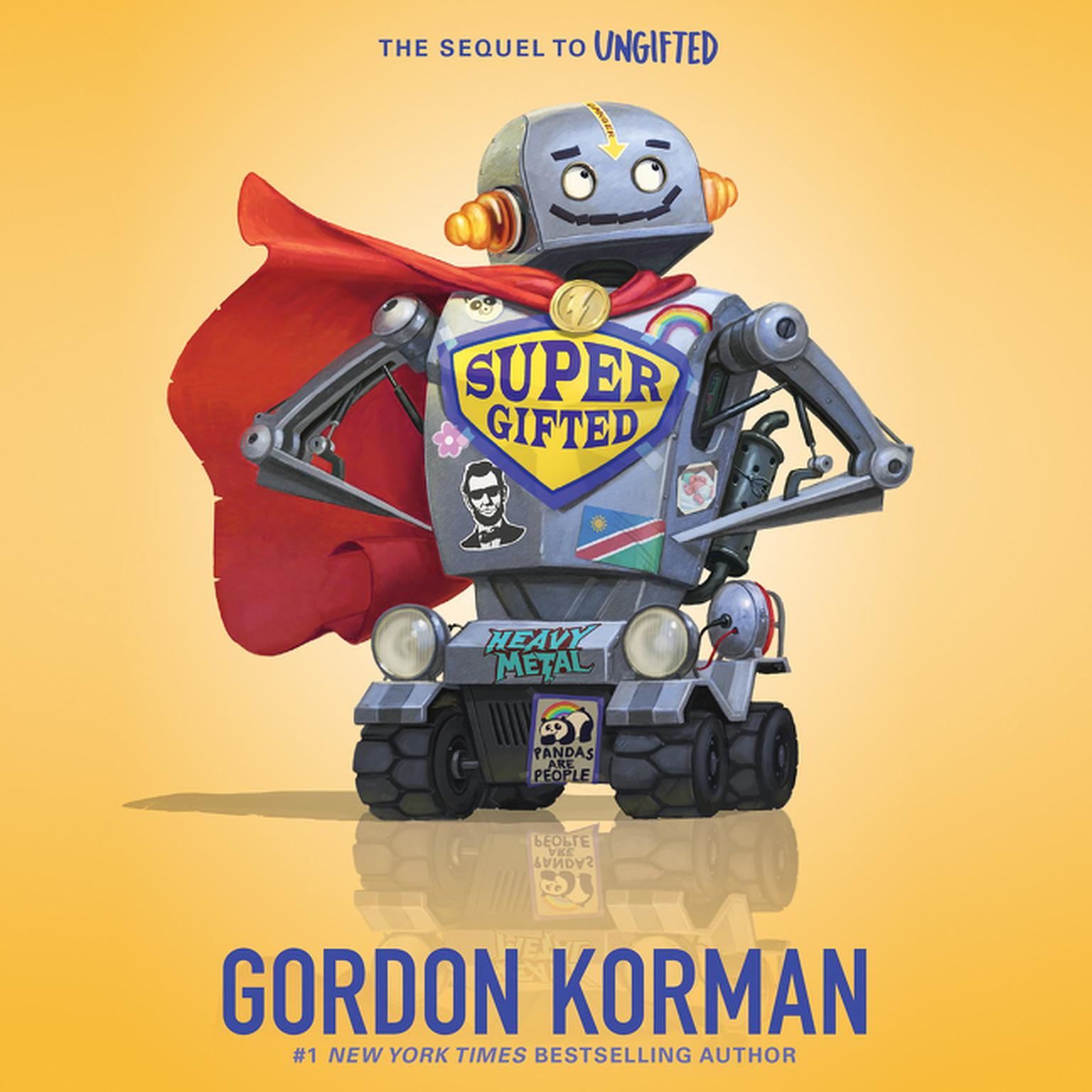 Printable Supergifted Audiobook Cover Art