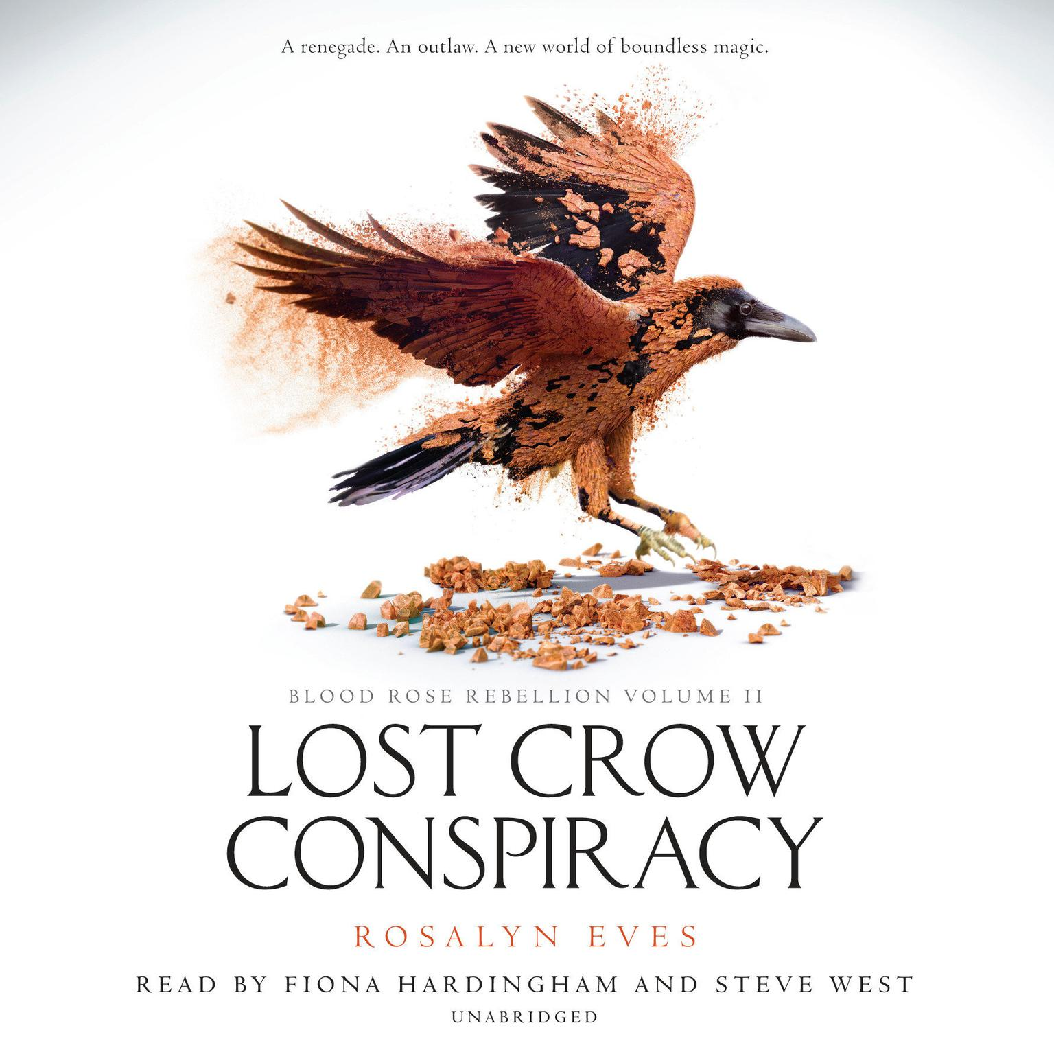 Printable Lost Crow Conspiracy (Blood Rose Rebellion, Book 2) Audiobook Cover Art