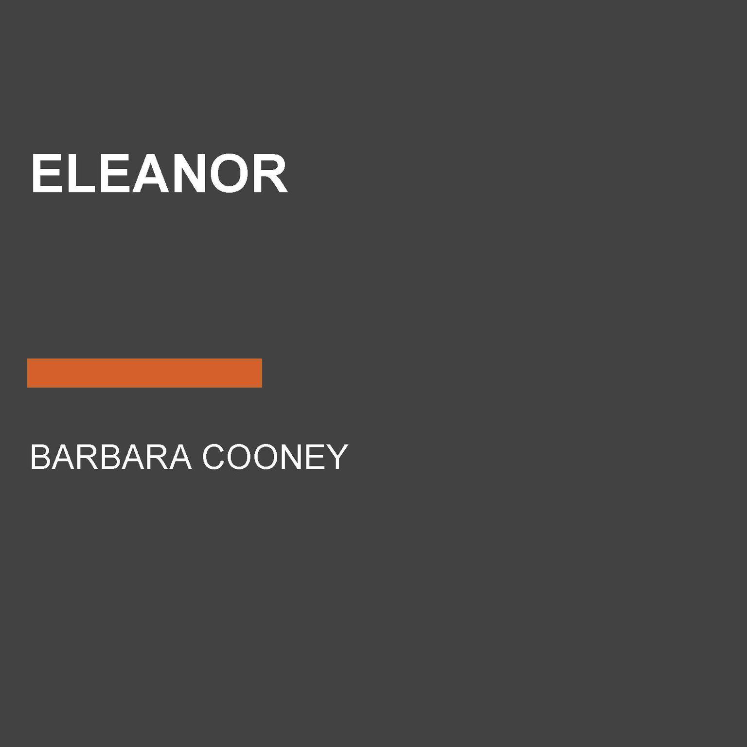 Eleanor Audiobook, by Barbara Cooney