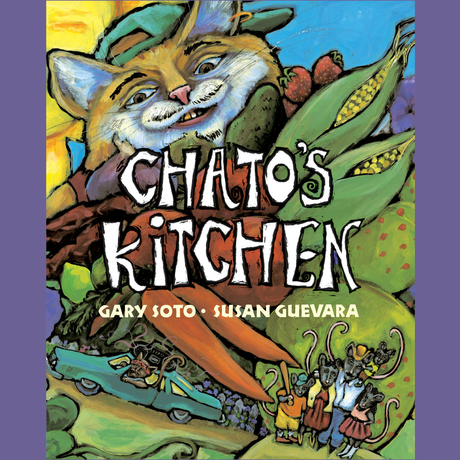 Printable Chato's Kitchen Audiobook Cover Art