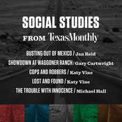 Social Studies from Texas Monthly Audiobook, by Texas Monthly, Various