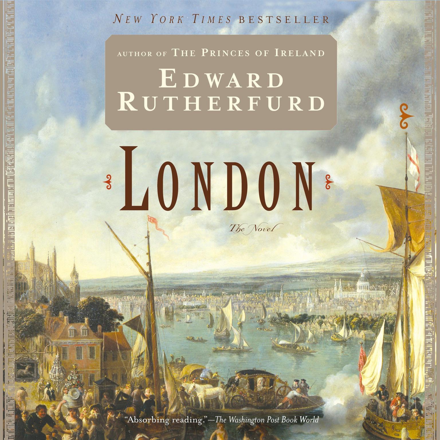 Printable London: The Novel Audiobook Cover Art
