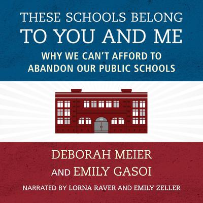 These Schools Belong to You and Me: Why We Cant Afford to Abandon Our Public Schools Audiobook, by Deborah Meier