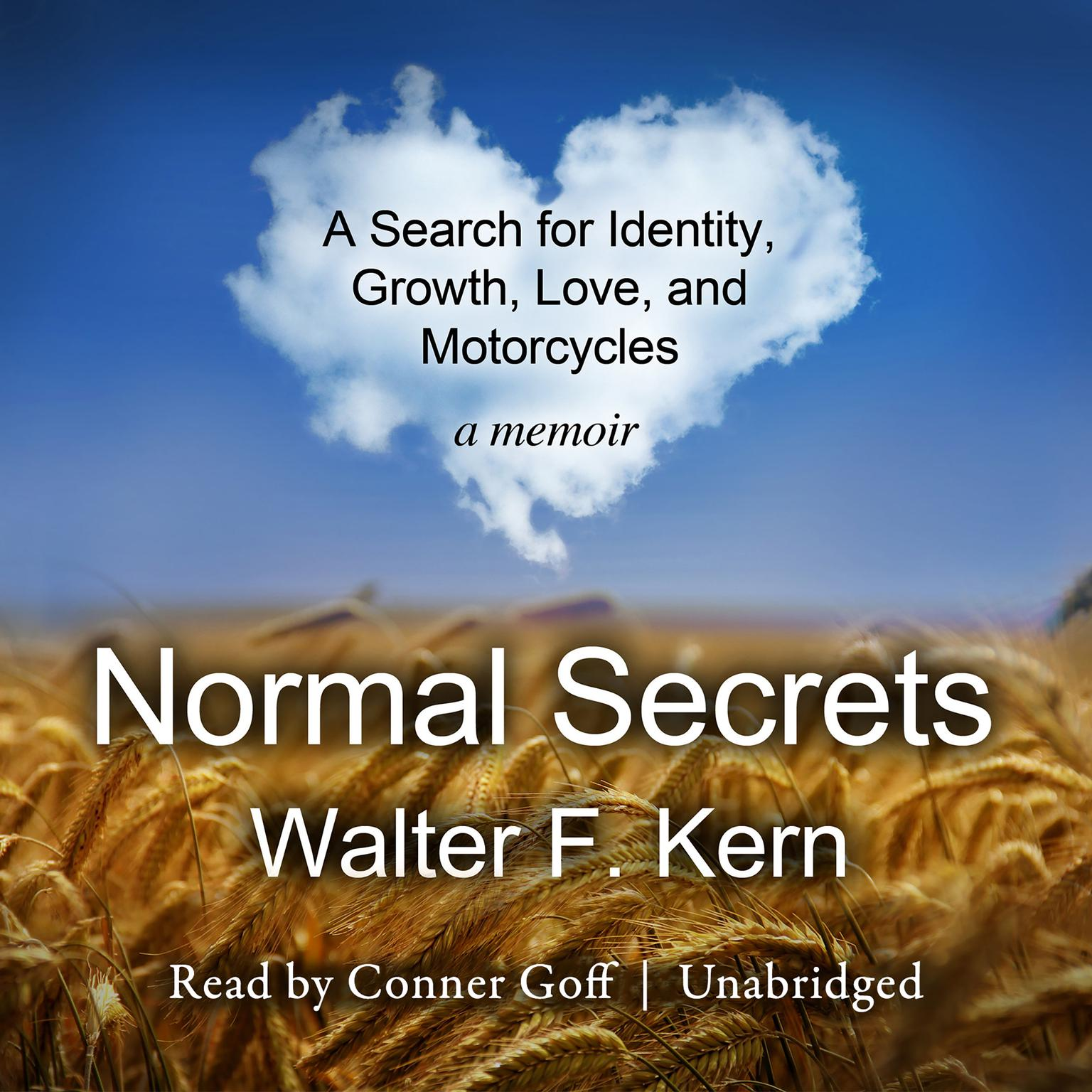 Printable Normal Secrets: A Search for Identity, Growth, Love, and Motorcycles; A Memoir Audiobook Cover Art