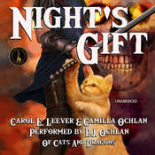 Night's Gift Audiobook, by Carol E. Leever, Camilla Ochlan