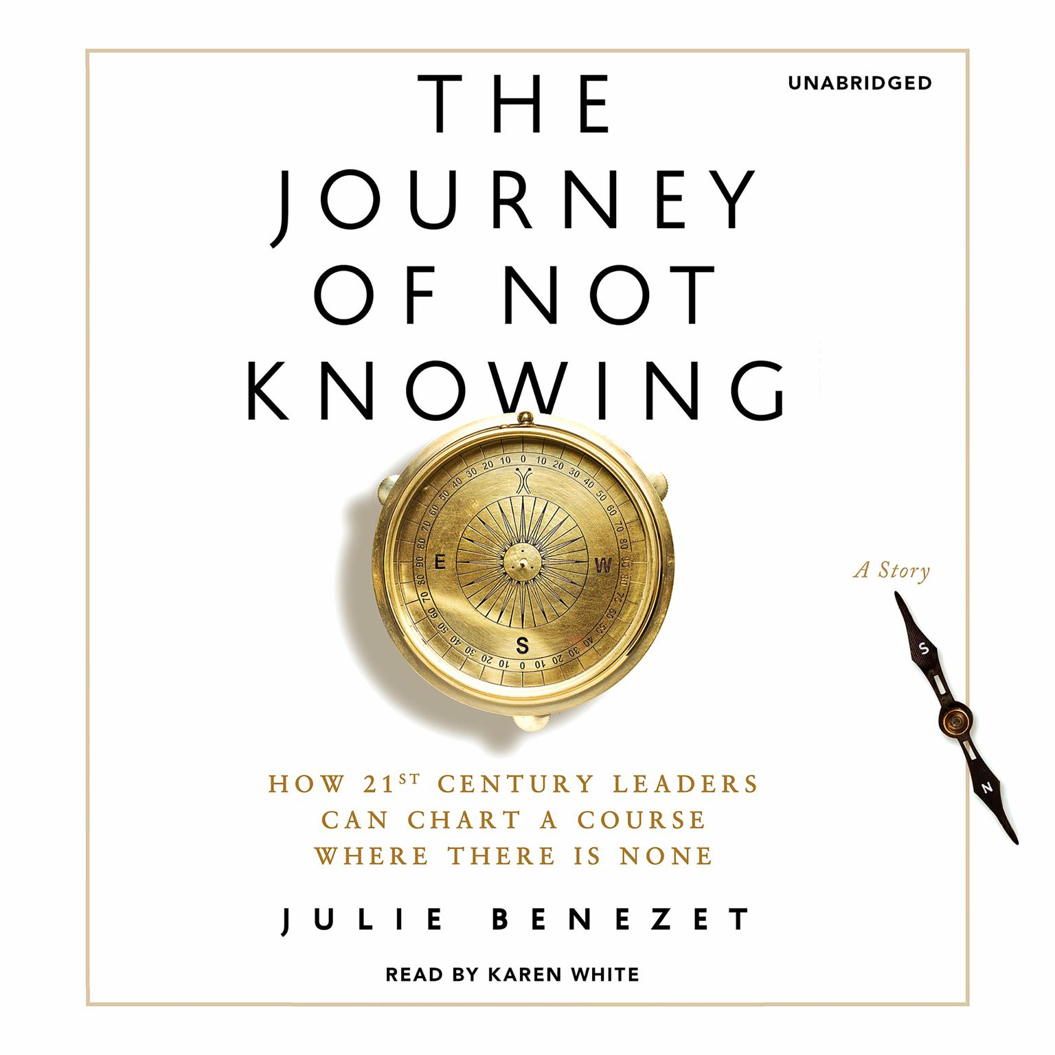 Printable The Journey of Not Knowing: How 21st Century Leaders Can Chart a Course Where There Is None Audiobook Cover Art