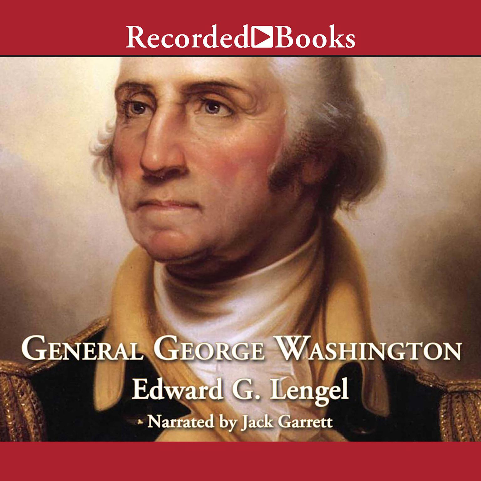 Printable General George Washington: A Military Life Audiobook Cover Art