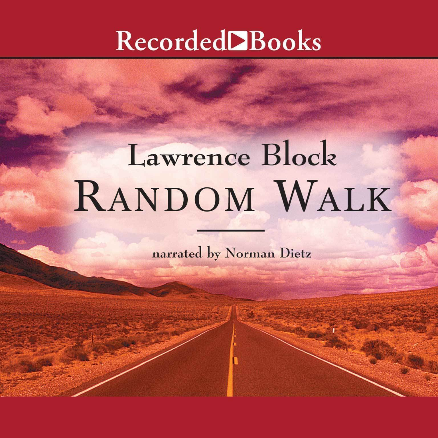 Printable Random Walk Audiobook Cover Art