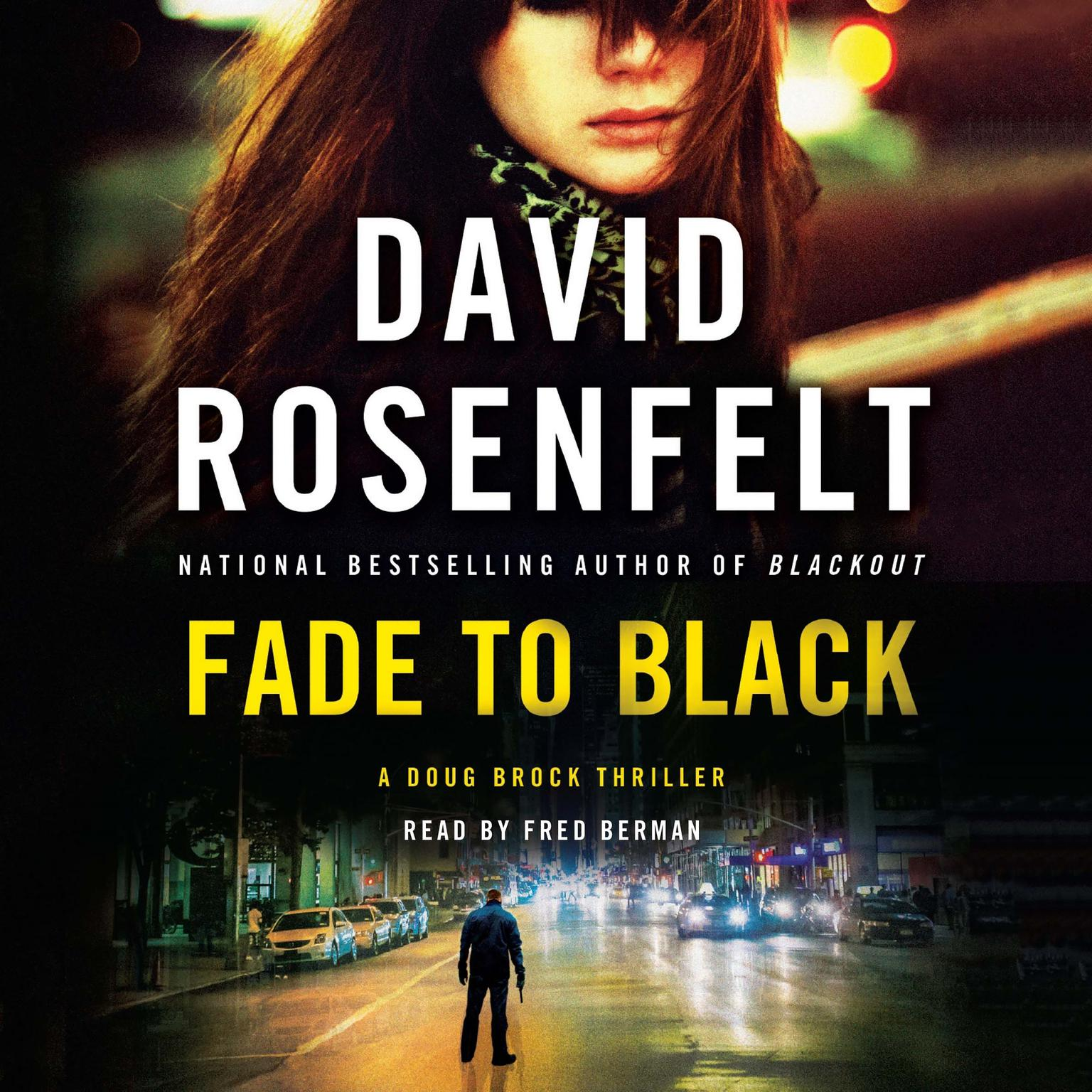 Printable Fade to Black: A Doug Brock Thriller Audiobook Cover Art