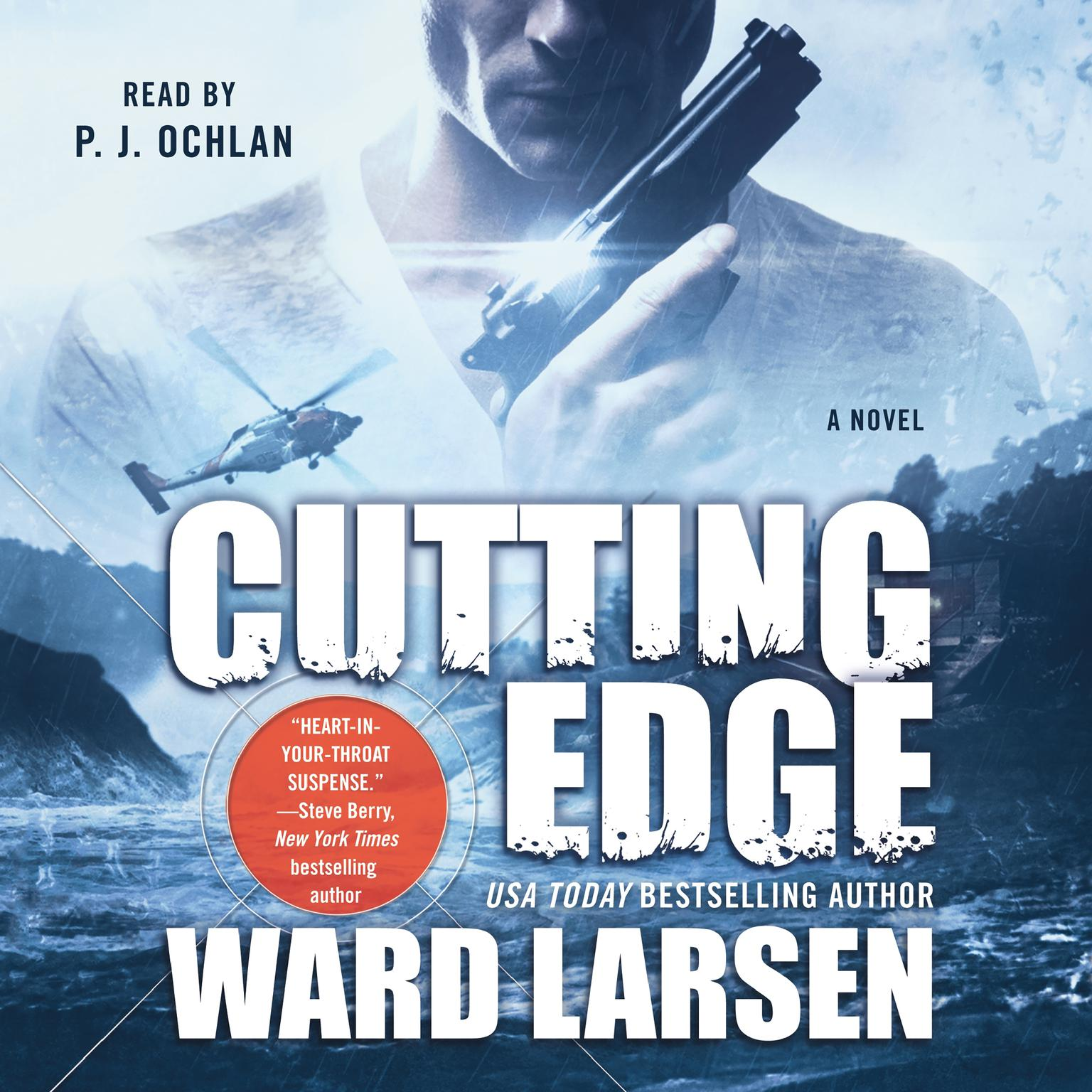 Printable Cutting Edge: A Novel Audiobook Cover Art
