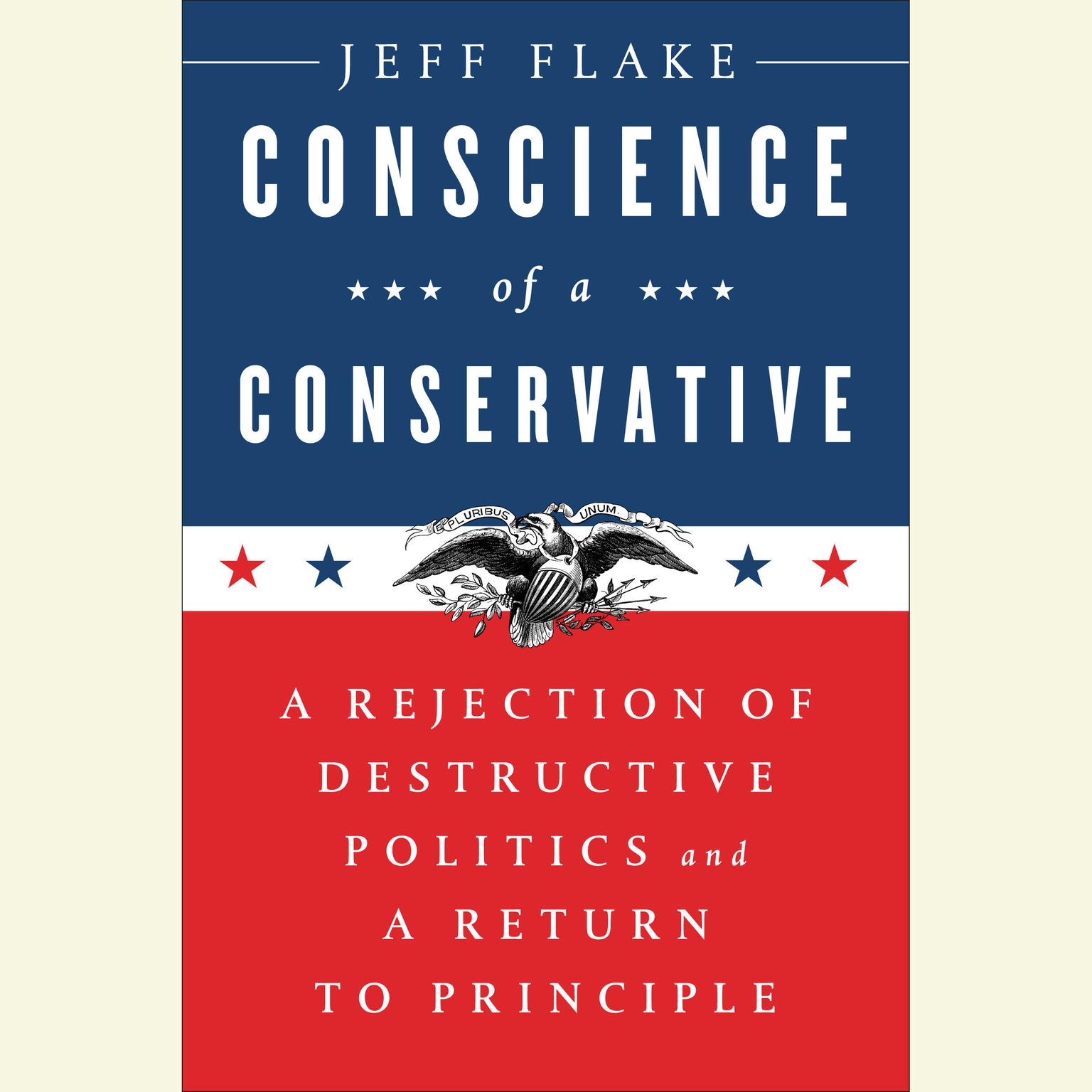 Printable Conscience of a Conservative: A Rejection of Destructive Politics and a Return to Principle Audiobook Cover Art