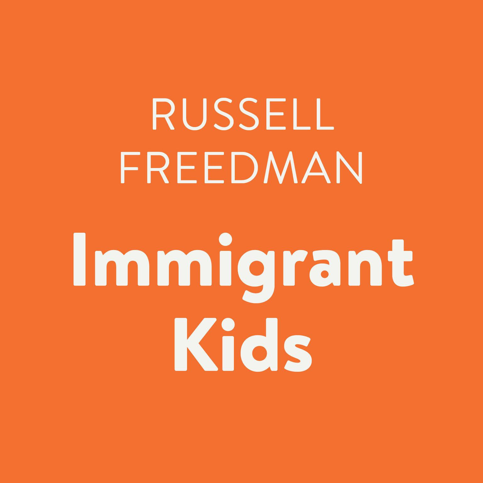 Printable Immigrant Kids Audiobook Cover Art