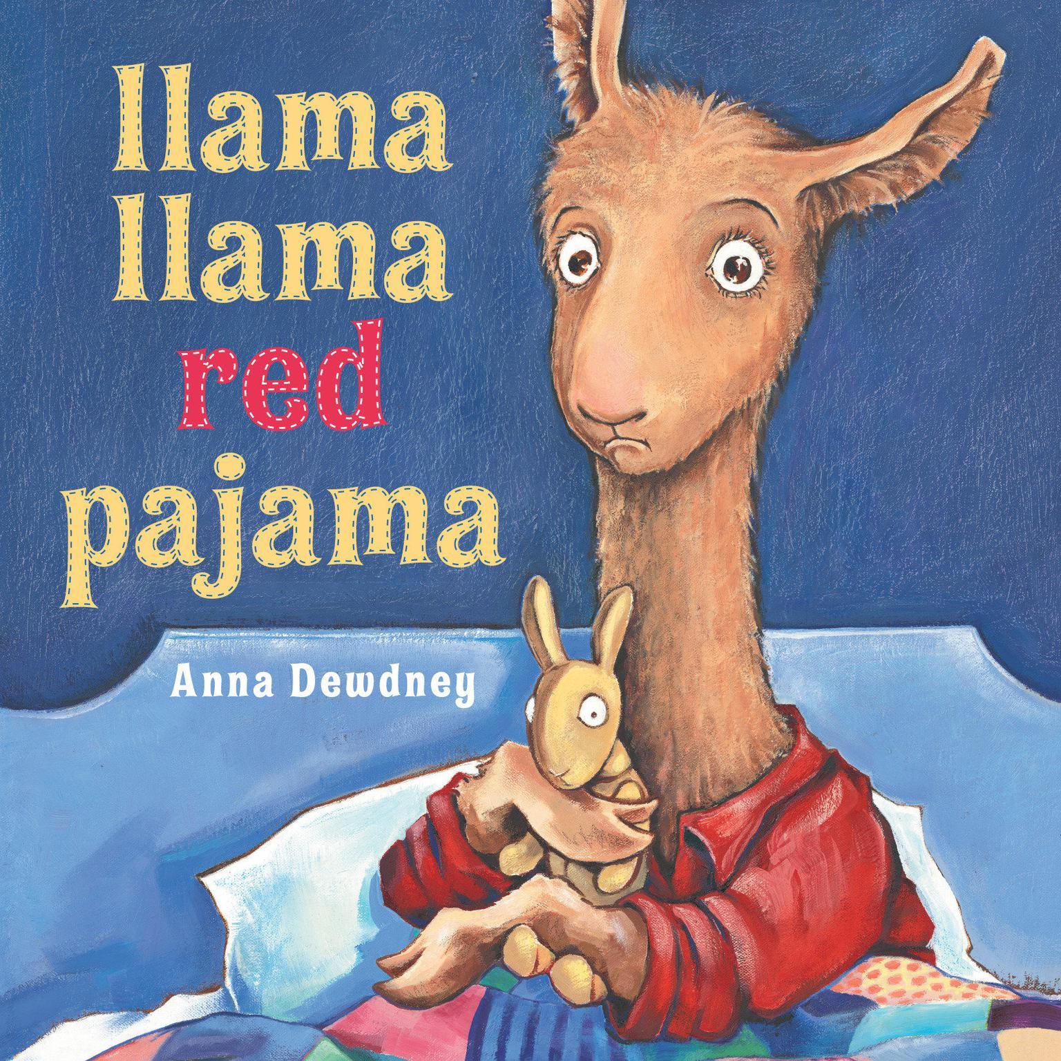 Printable Llama Llama Red Pajama Audiobook Cover Art