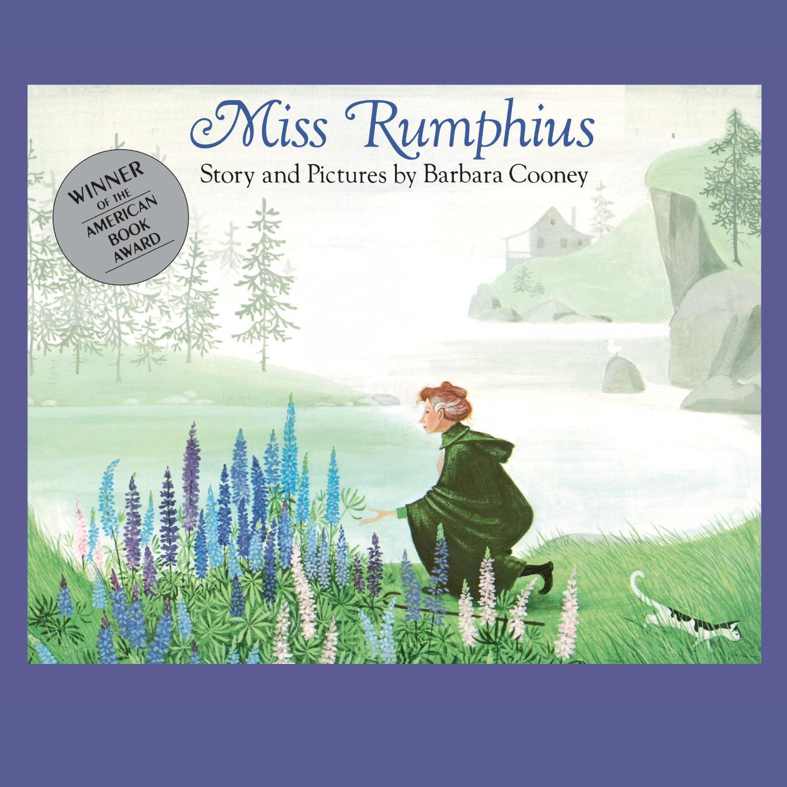 Printable Miss Rumphius Audiobook Cover Art