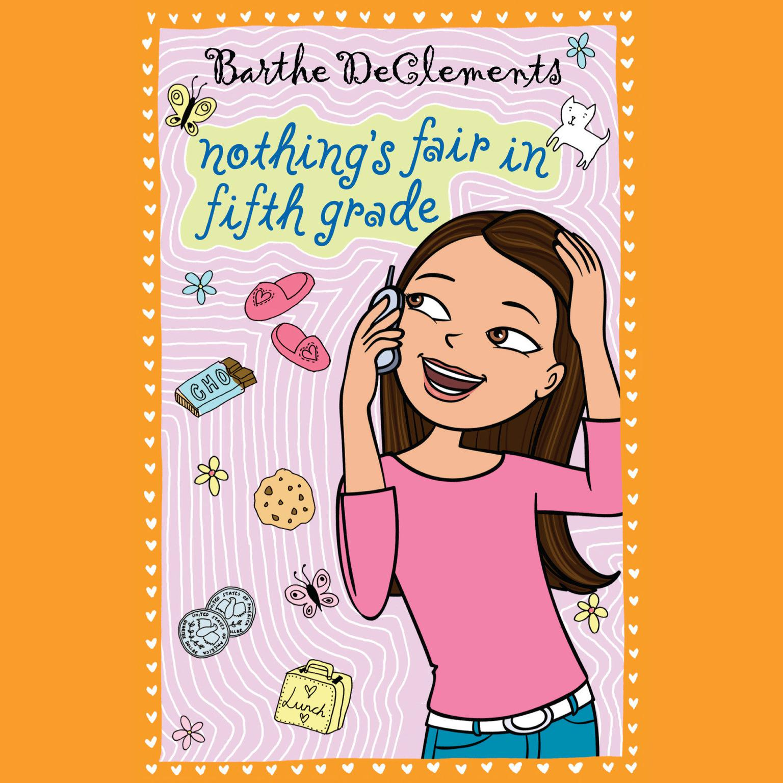 Printable Nothing's Fair in Fifth Grade Audiobook Cover Art