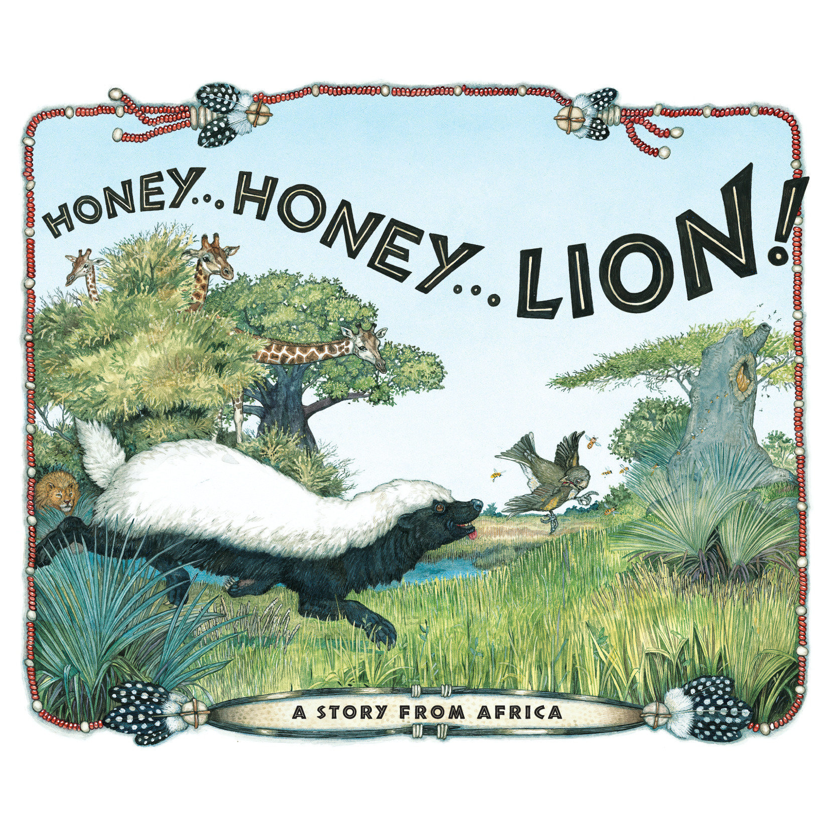 Printable Honey... Honey... Lion! Audiobook Cover Art