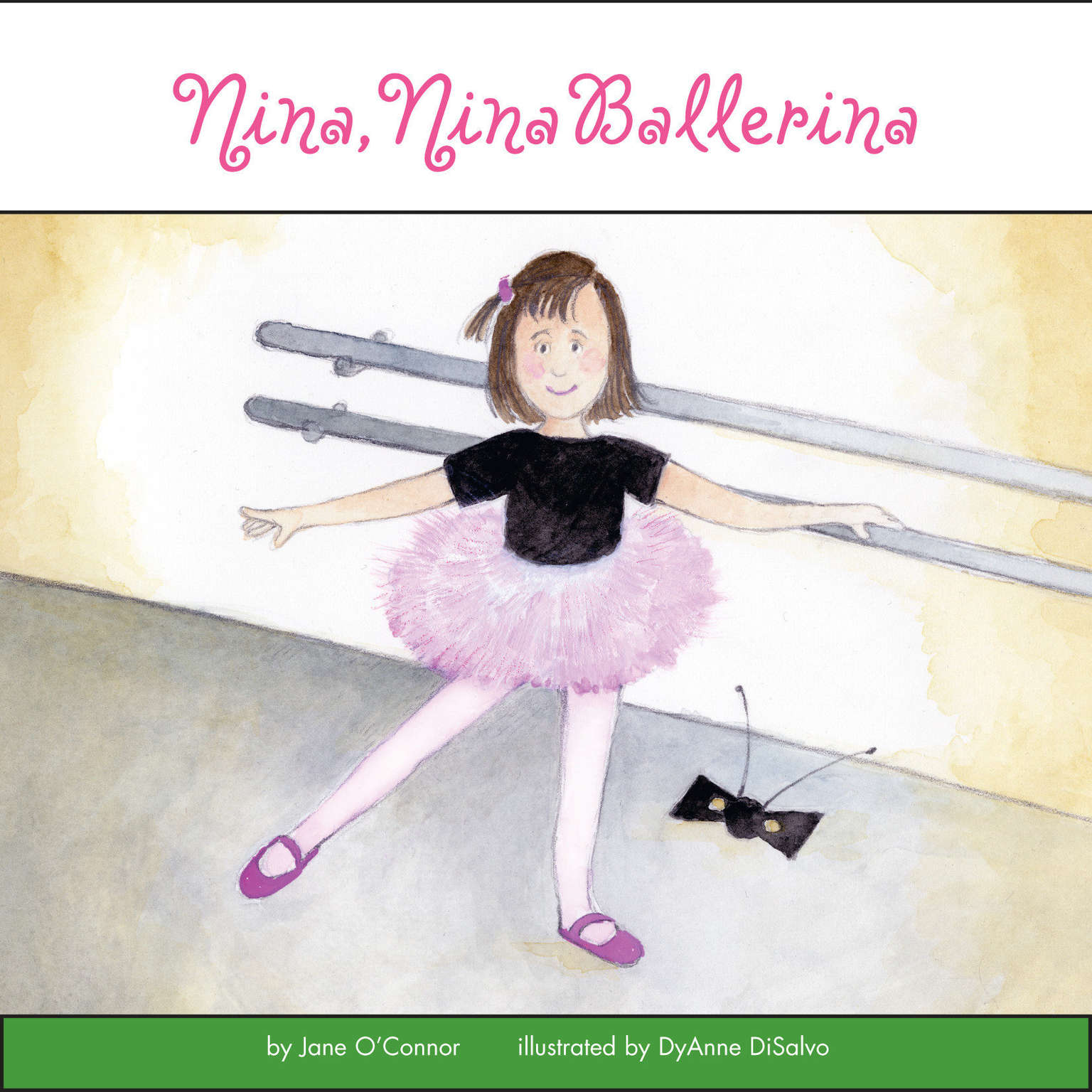 Printable Nina, Nina Ballerina Audiobook Cover Art