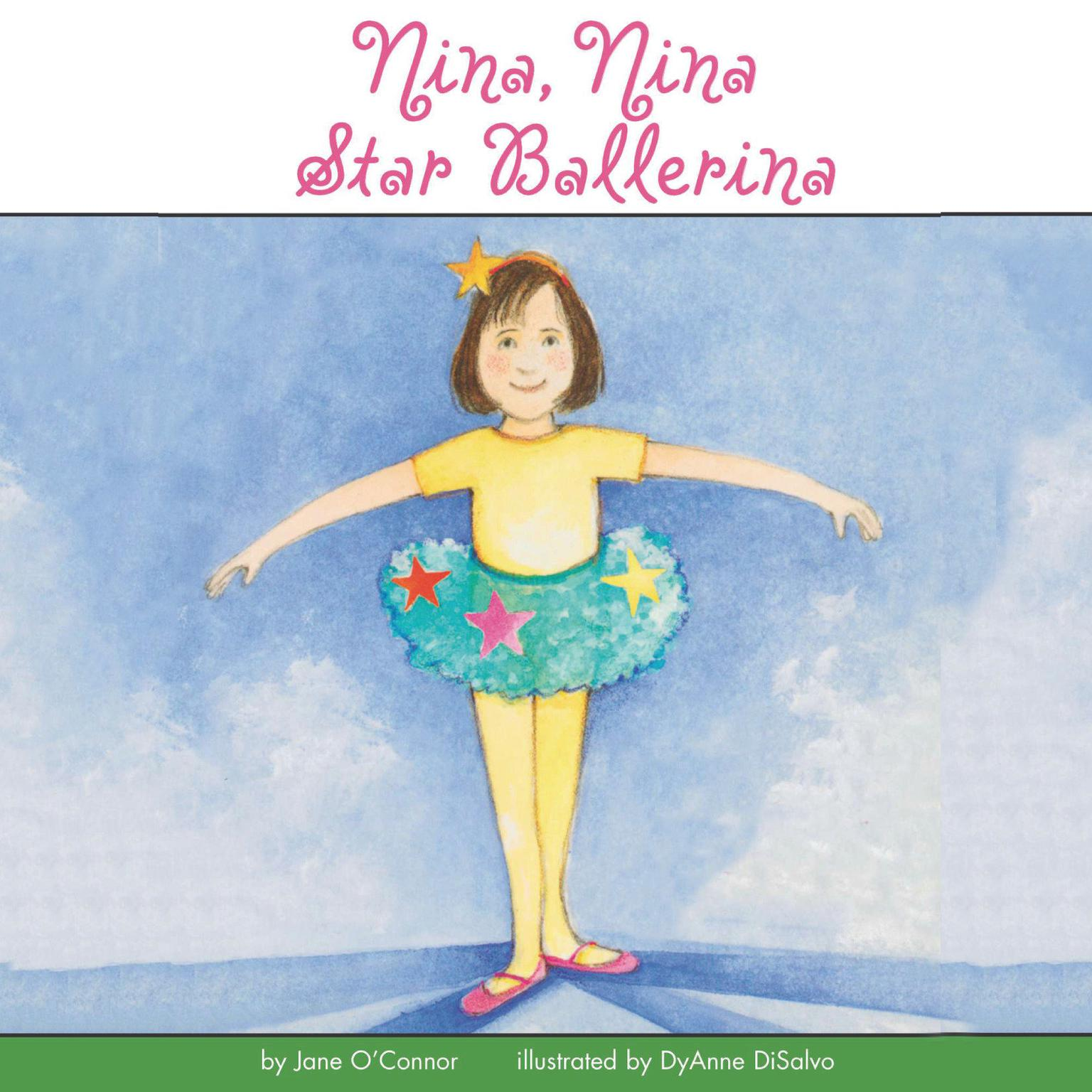 Printable Nina, Nina Star Ballerina Audiobook Cover Art
