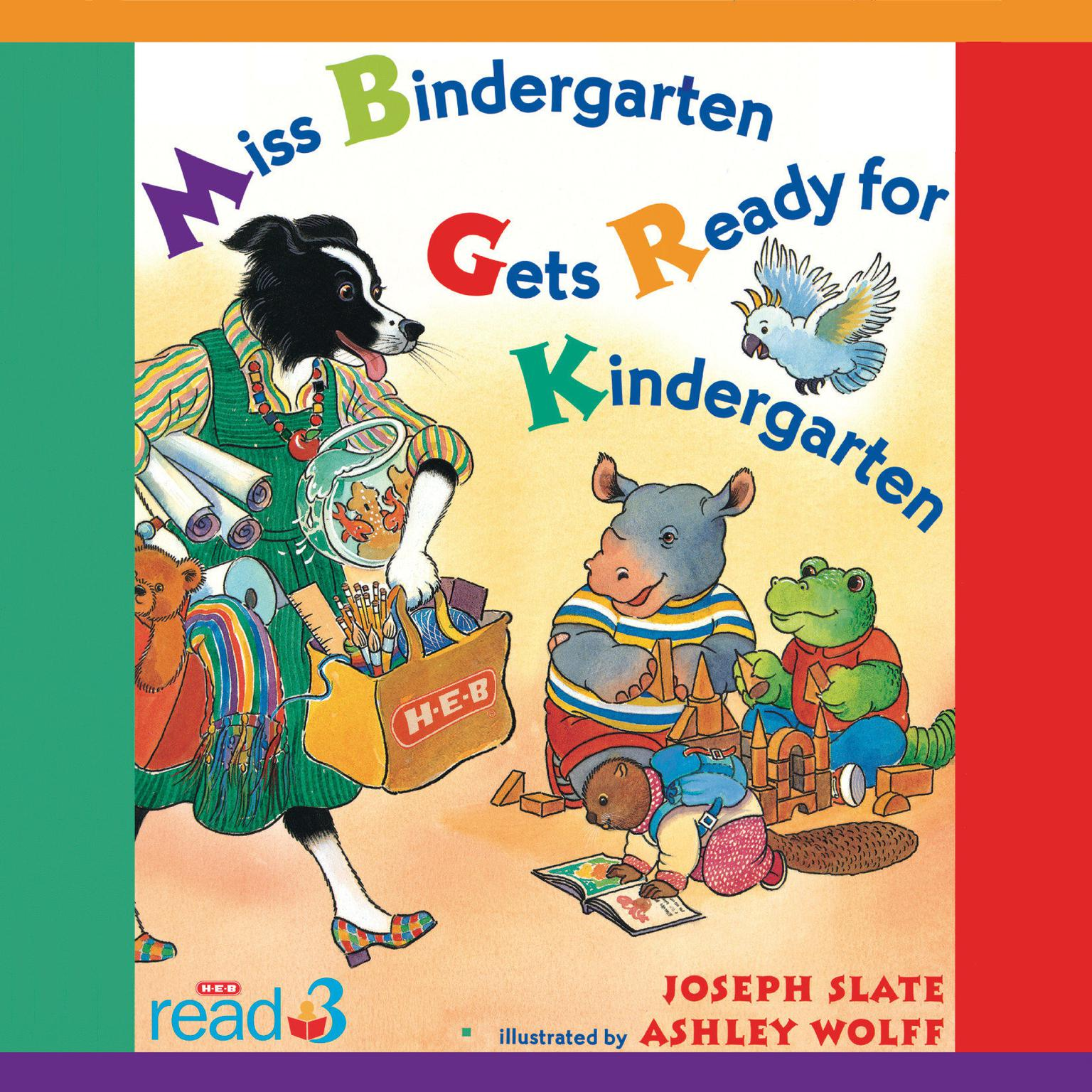 Printable Miss Bindergarten Gets Ready for Kindergarten Audiobook Cover Art