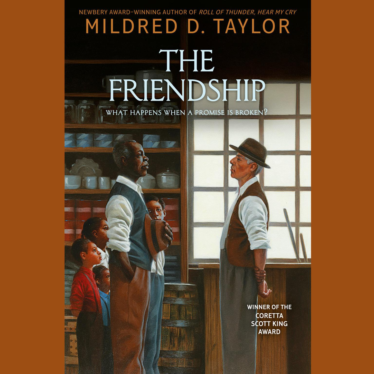 Printable The Friendship Audiobook Cover Art
