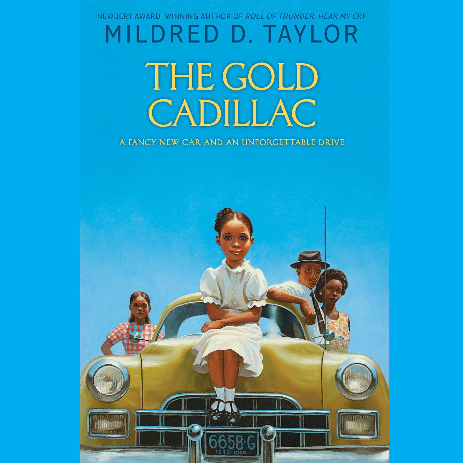Printable The Gold Cadillac Audiobook Cover Art