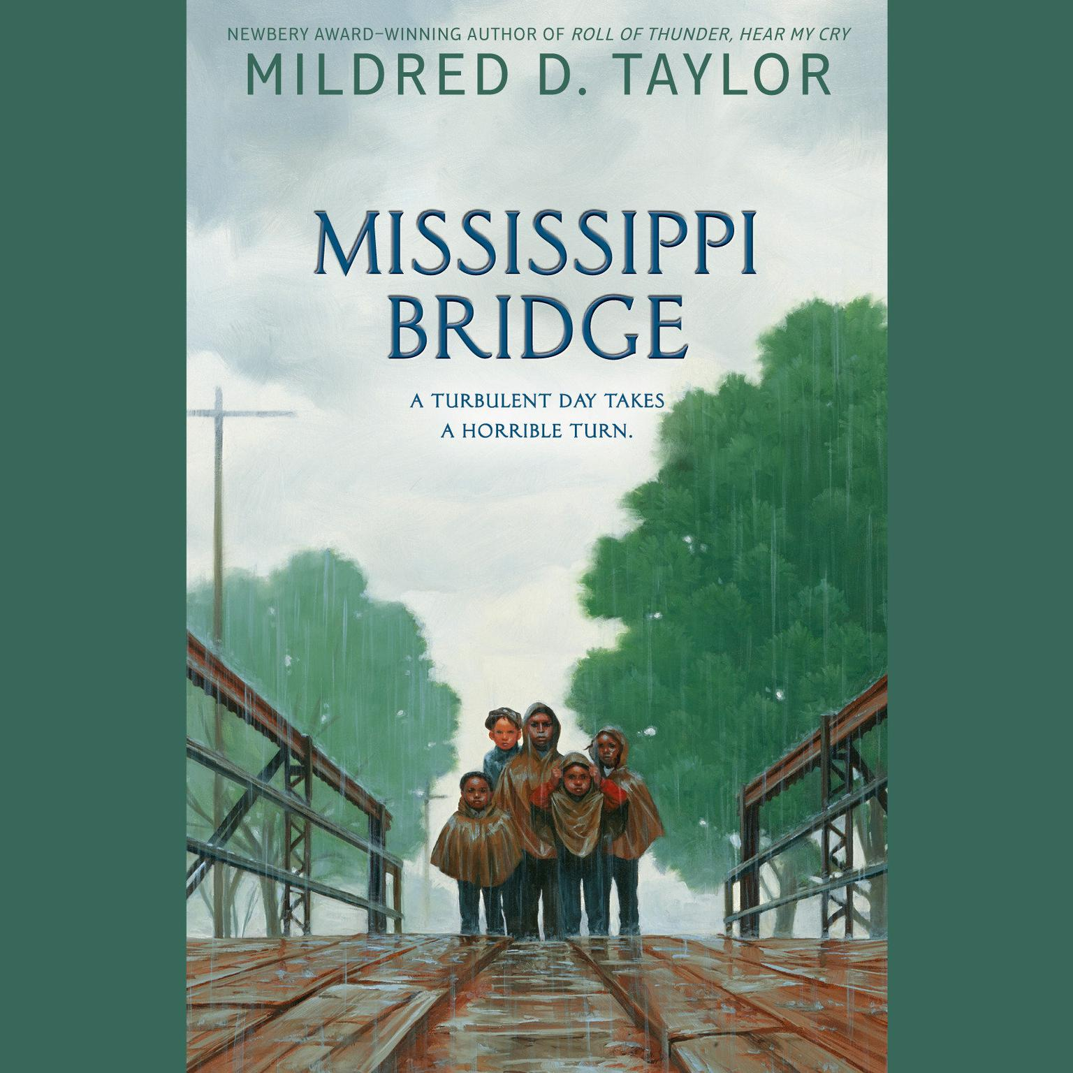 Printable Mississippi Bridge Audiobook Cover Art