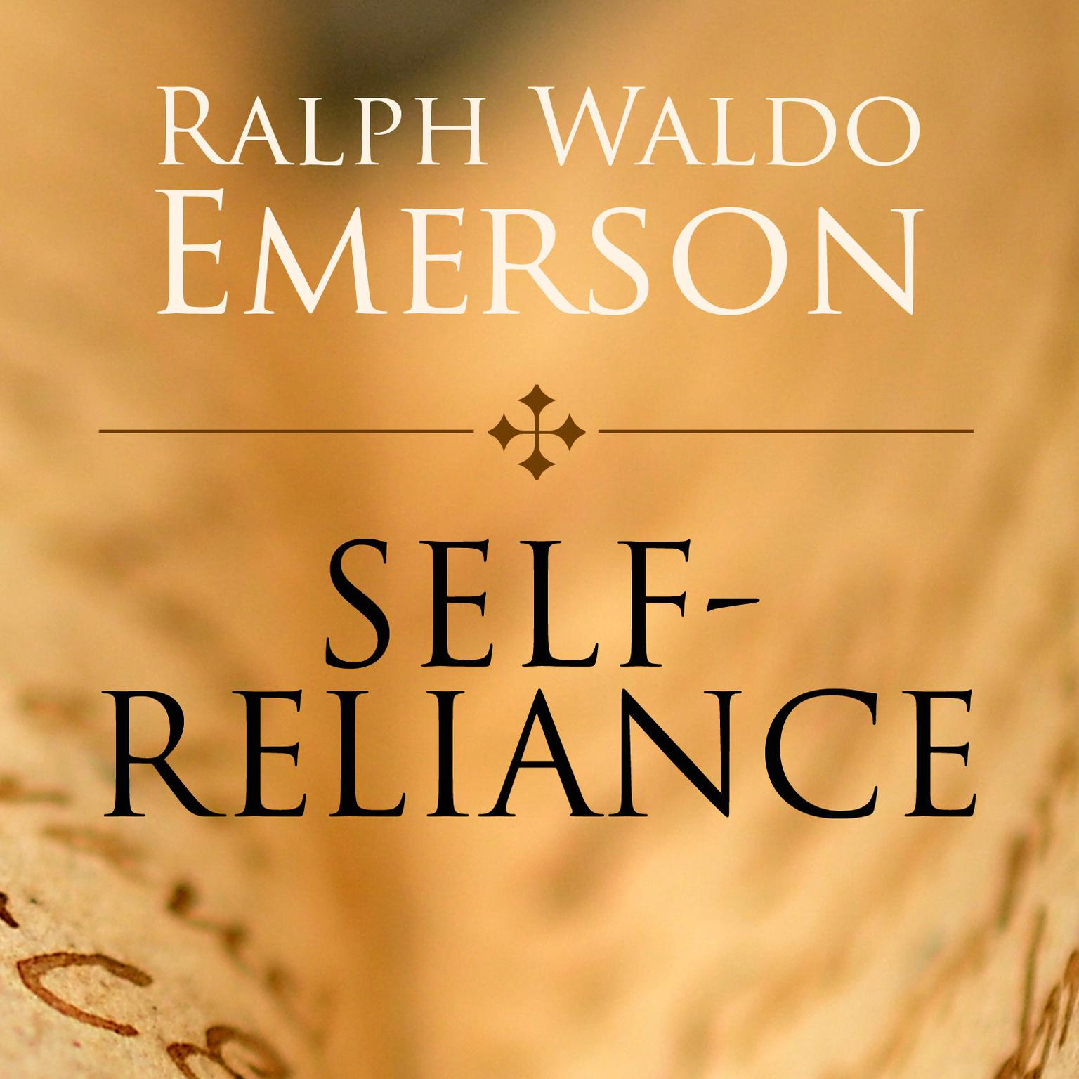 Printable Self-Reliance Audiobook Cover Art